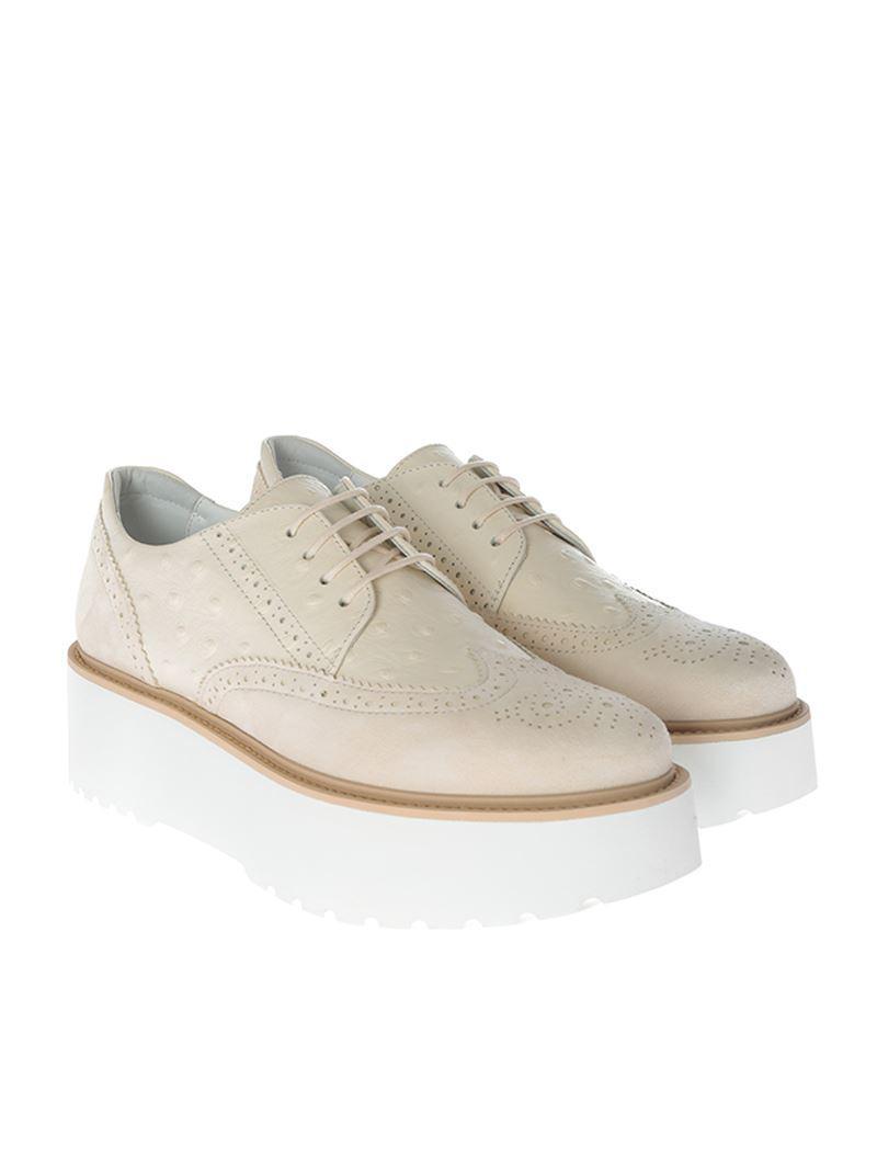 Chaussures Derby H355 Beige Hogan DvIzW6