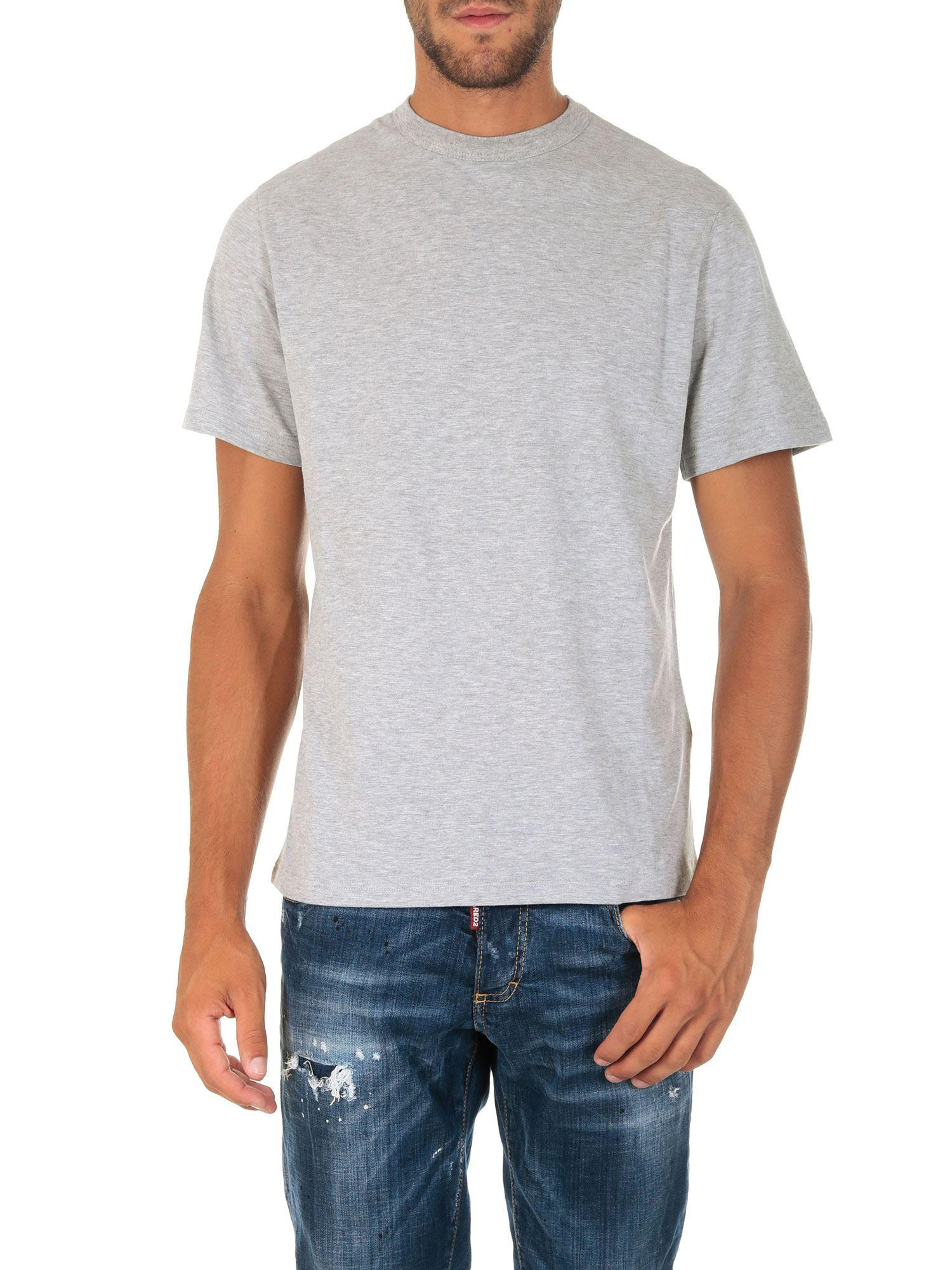 2c87f9959cb6 Golden Goose Deluxe Brand Grey T-shirt With Logo Print in Gray for ...