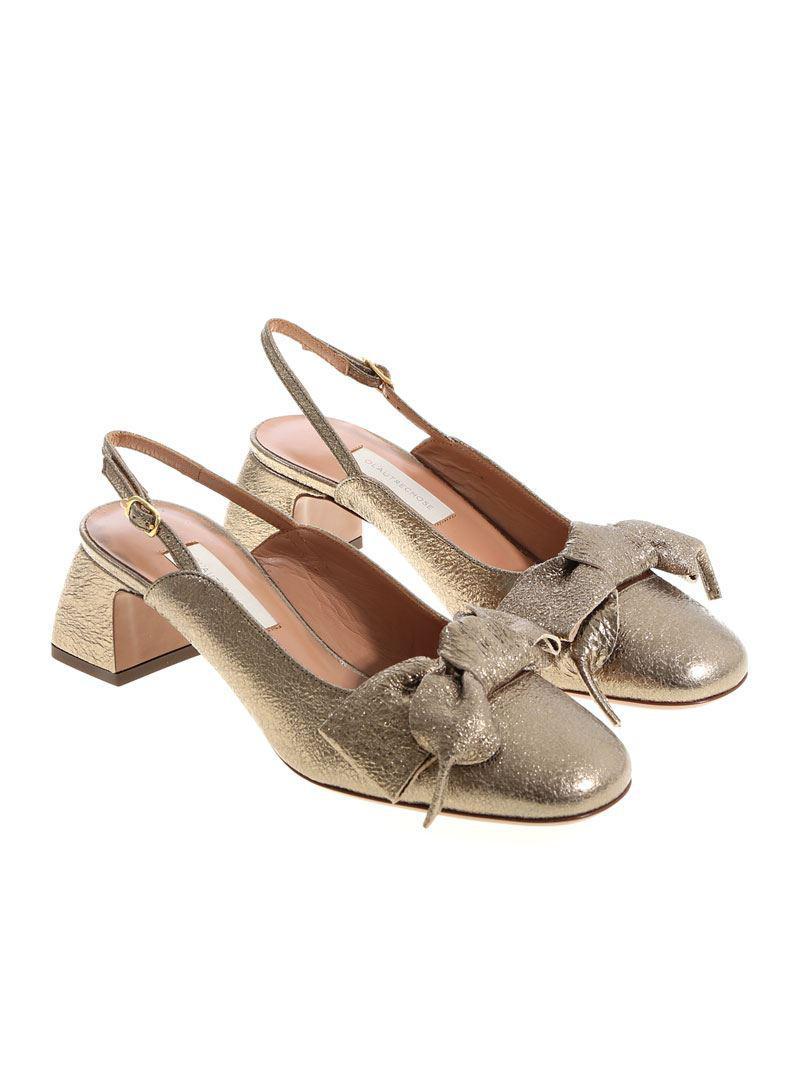 Bronze Colored Platform Sandals L'autre Chose 3CHTGQCH