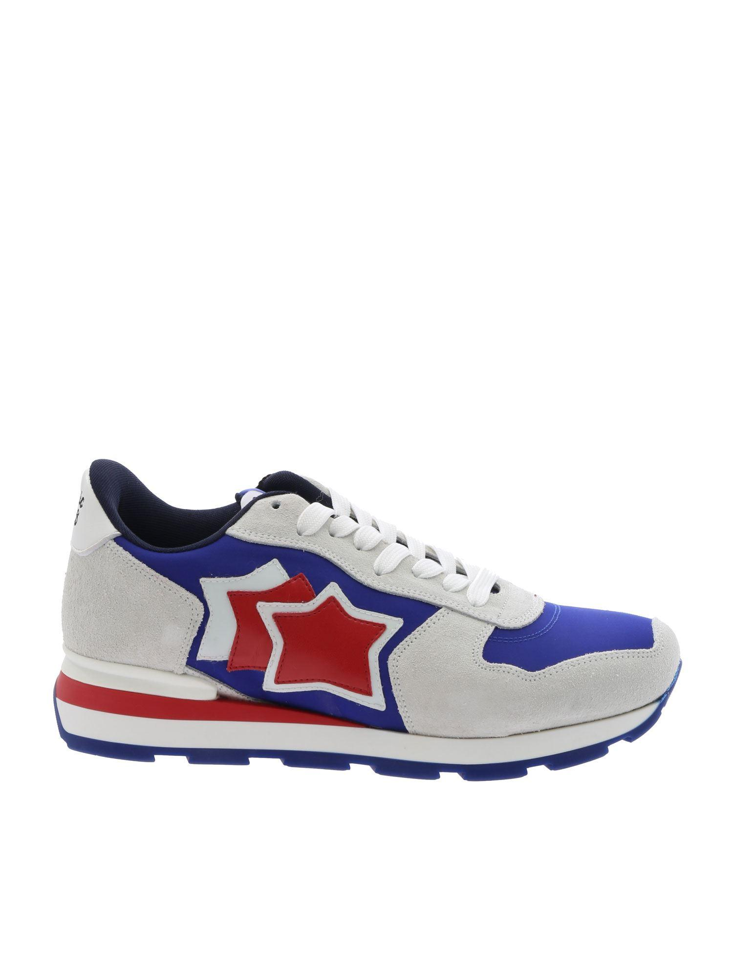 1ceb04328ba7b Lyst - Atlantic Stars Antares Blue And Ice Sneakers in Blue for Men