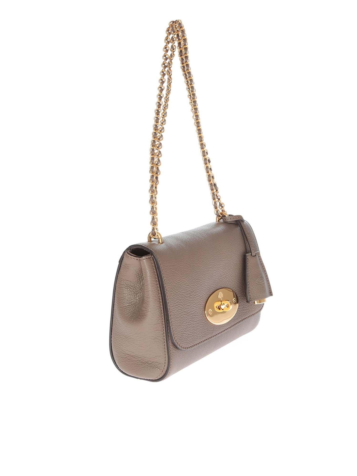 c4932ea27fa Lyst - Mulberry Lily Shoulder Bag In Clay Color