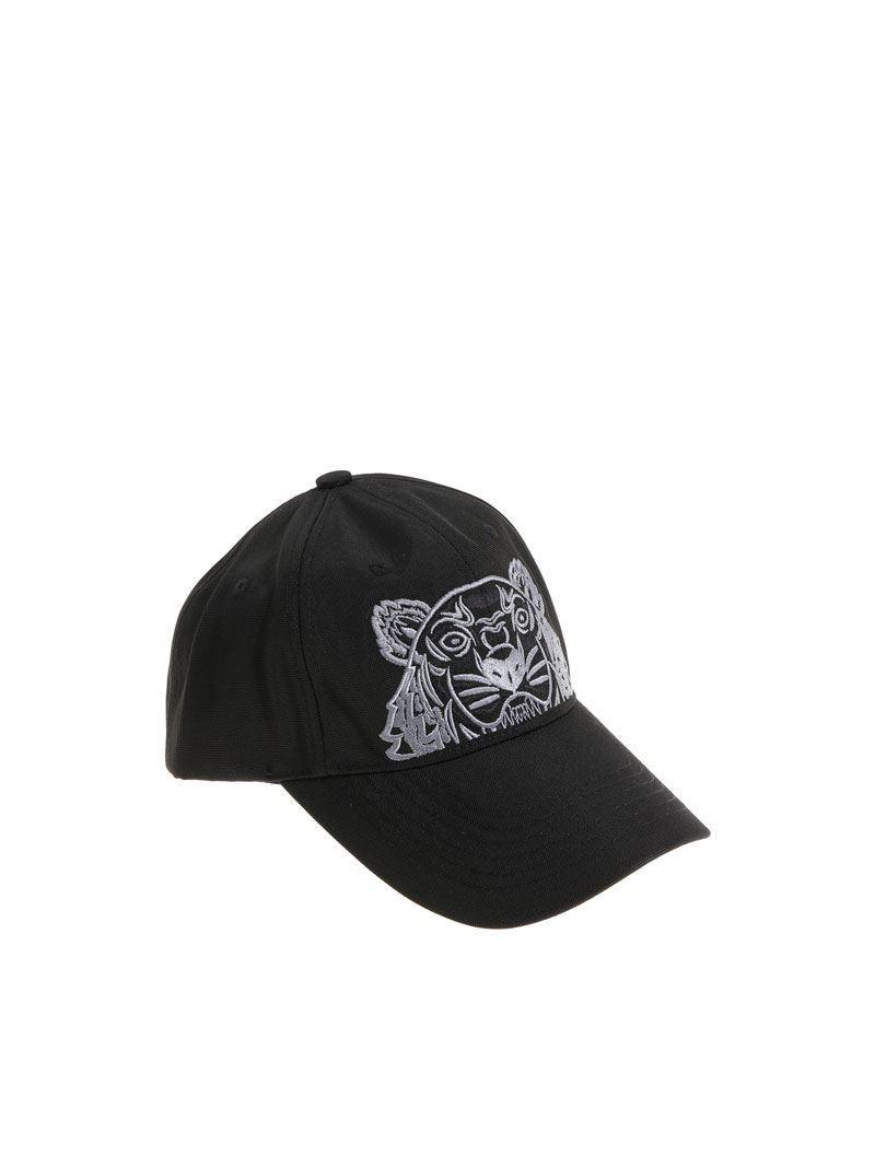 825314070cd Lyst - KENZO Tiger Cap in Black for Men - Save 40%