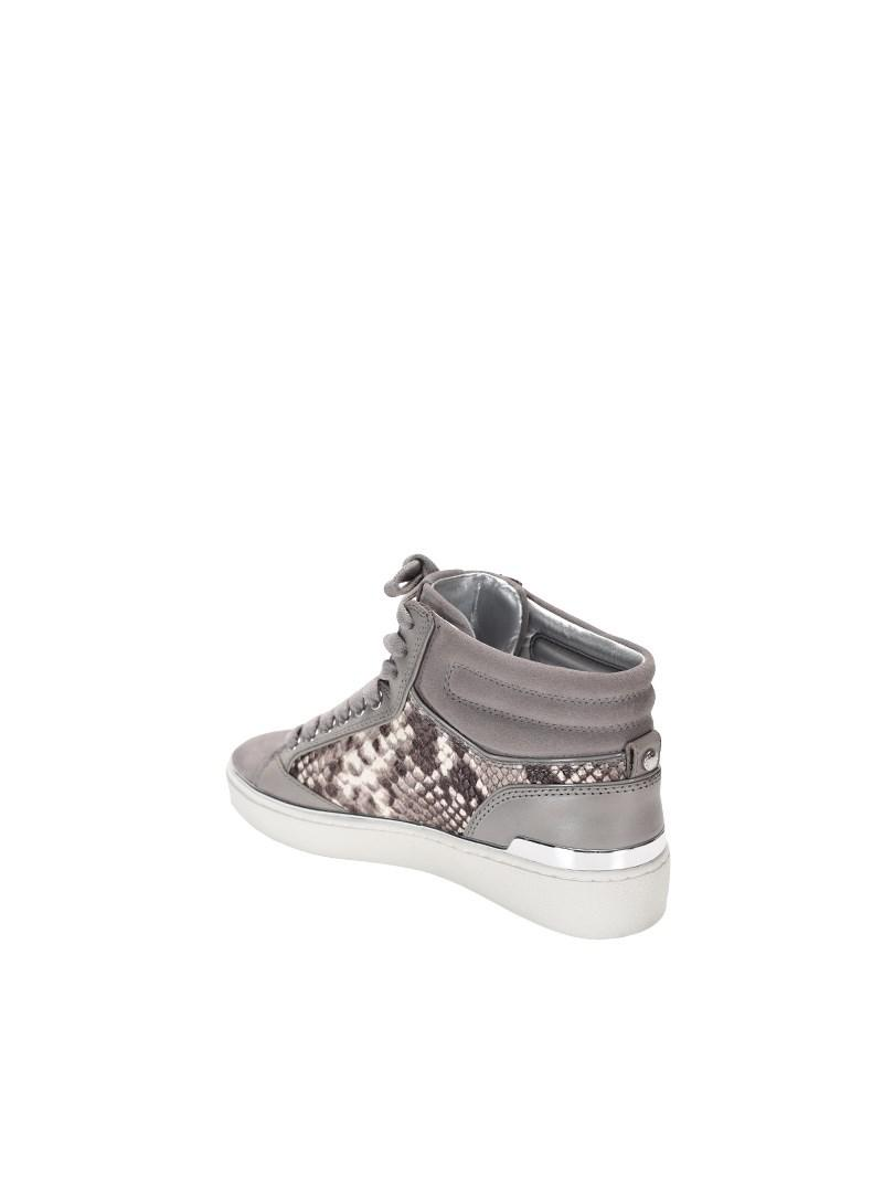 Lyst - Michael Kors Kyle High Top Pearl Grey in Gray bb2d9be3ff2