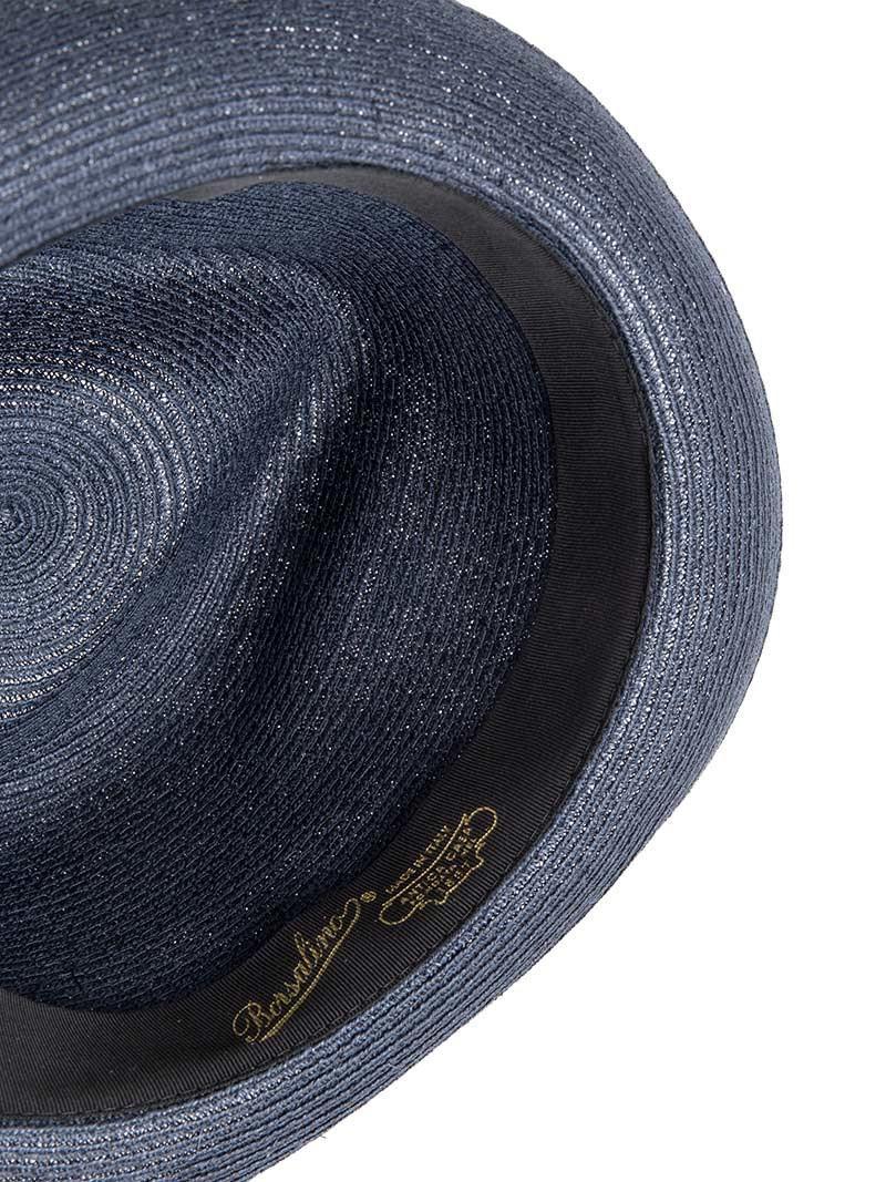 Lyst - Borsalino Treccia Canapa Hat in Blue for Men d0221c7e3e4