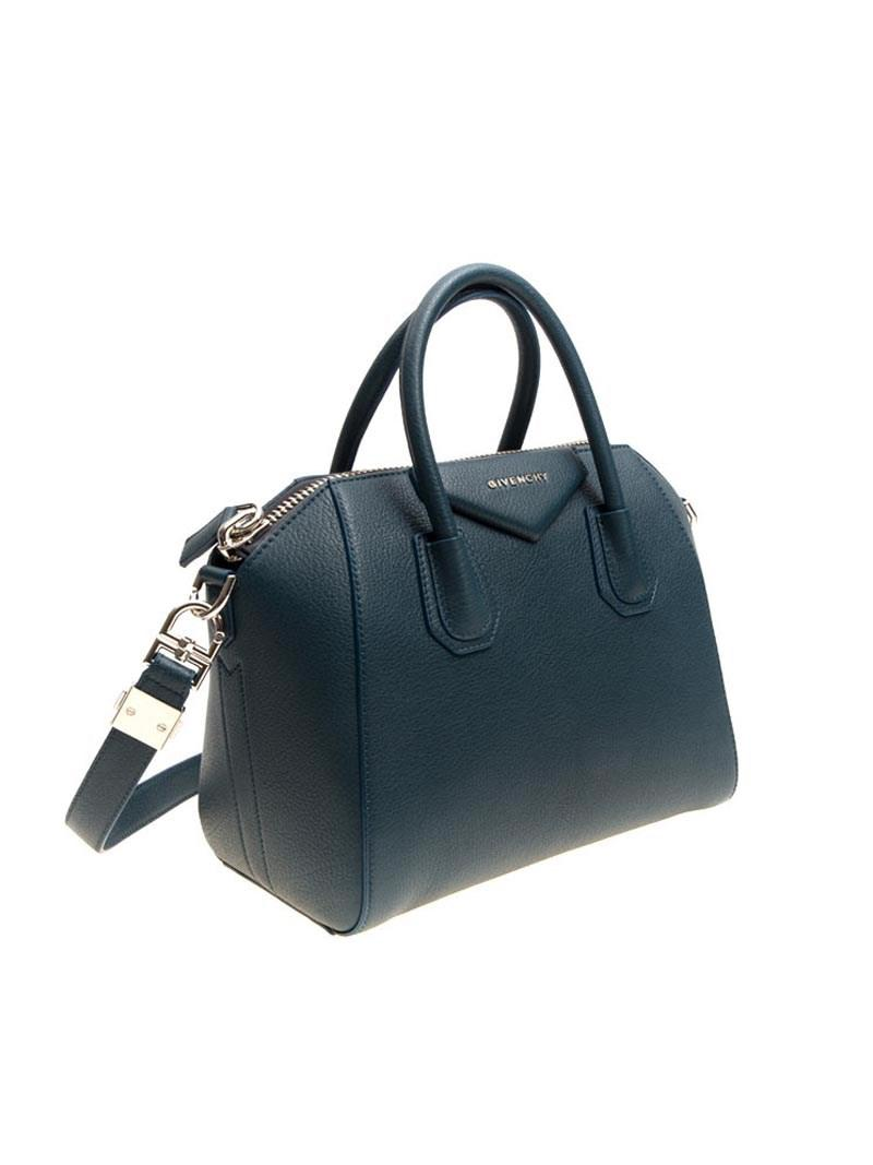 Lyst - Givenchy Antigona Small Bag in Blue 60b561cc30