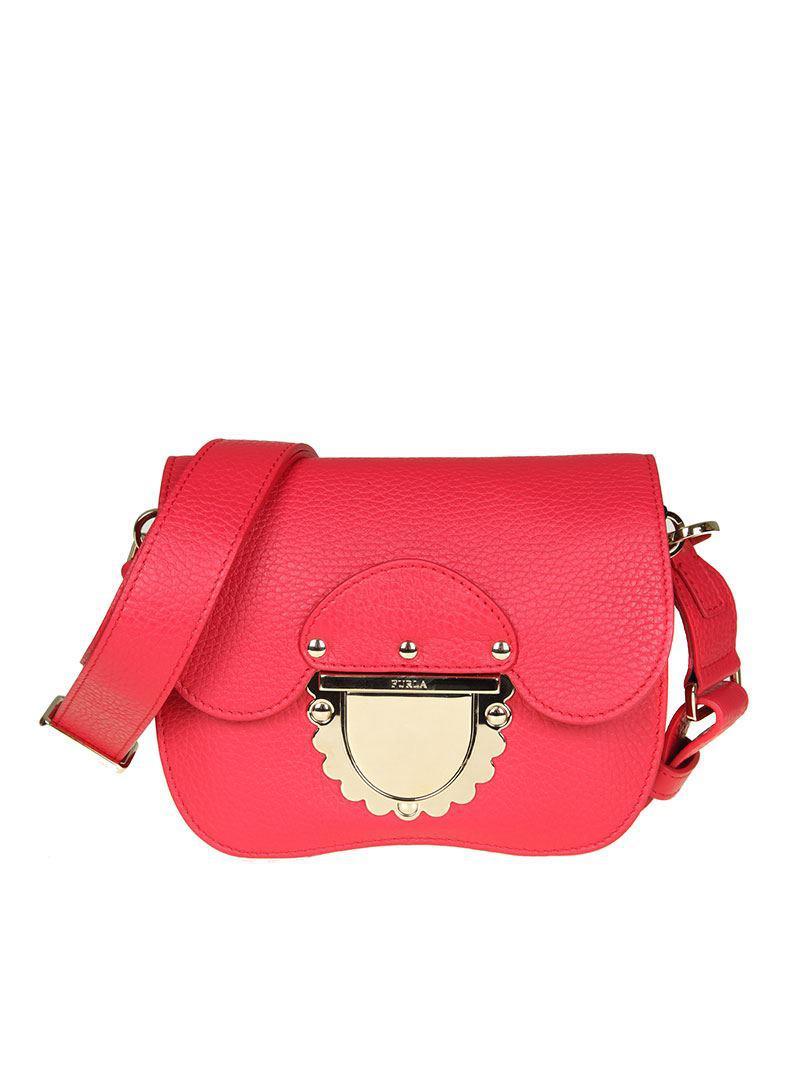 Ducale Cuero Rojo Mini Bolso De Furla LShAGItby
