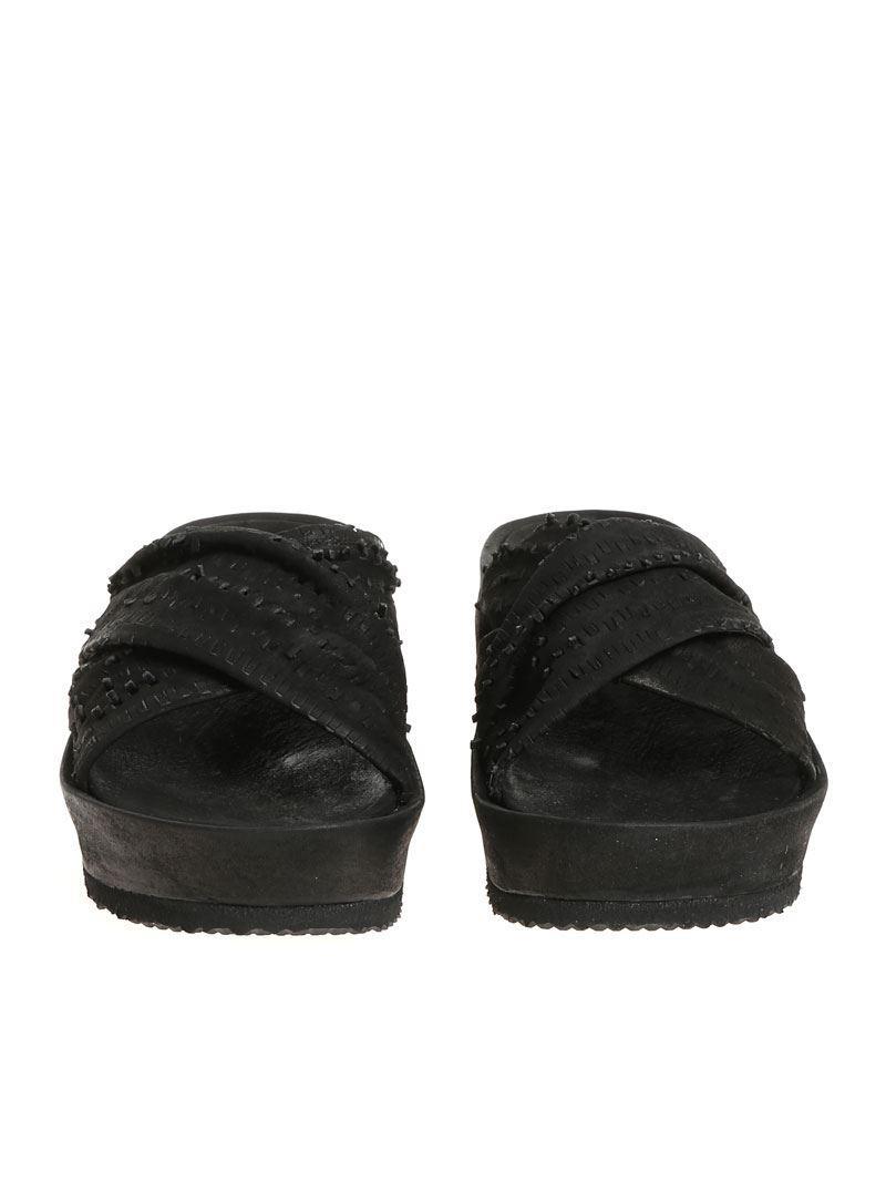 Black Idris slippers The Last Conspiracy qW94jBg