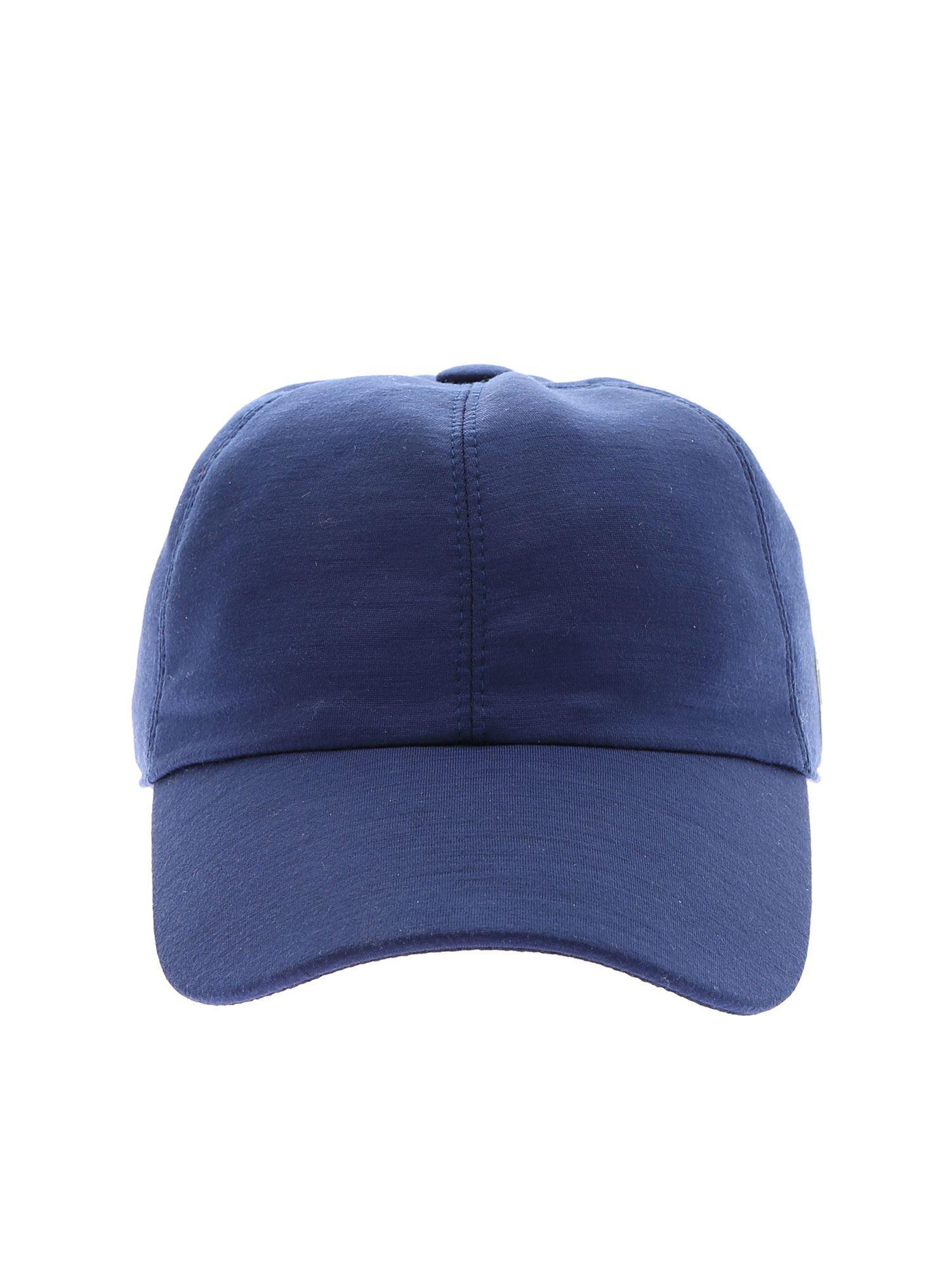 Lyst - Z Zegna Techmerino Tm Cap In Blue Wool in Blue for Men 6a676e0eabad