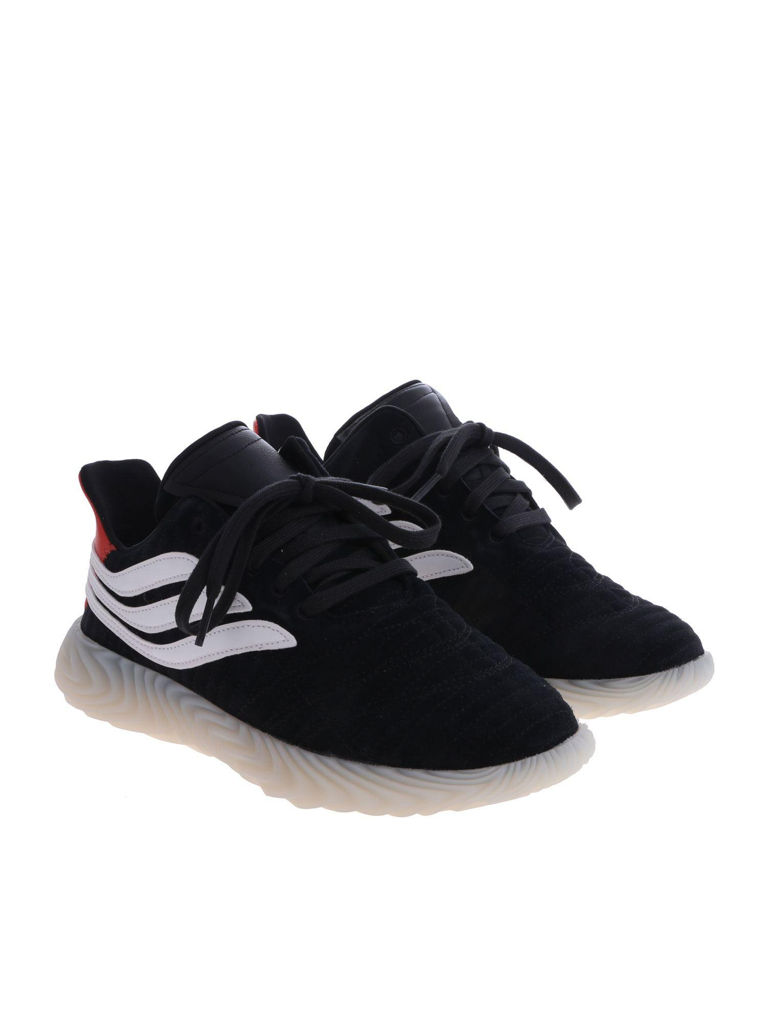 size 40 42697 95158 Lyst - adidas Originals Black Sobakov Sneakers in Black for Men