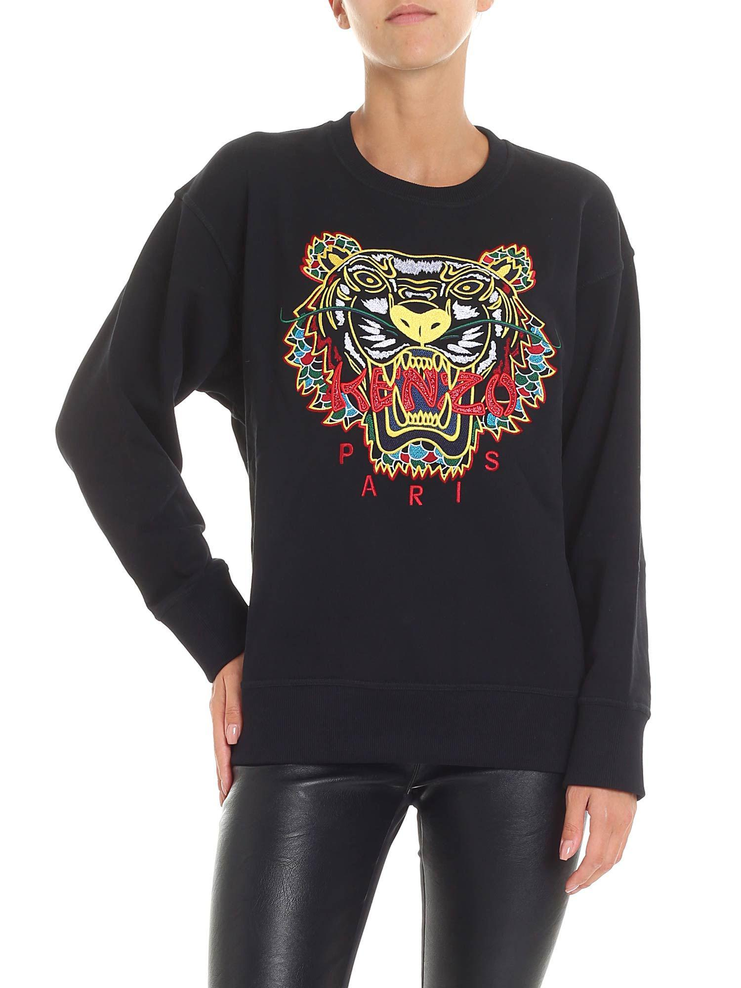 c8575943 KENZO Black Tiger Relax Sweatshirt in Black - Save 10% - Lyst