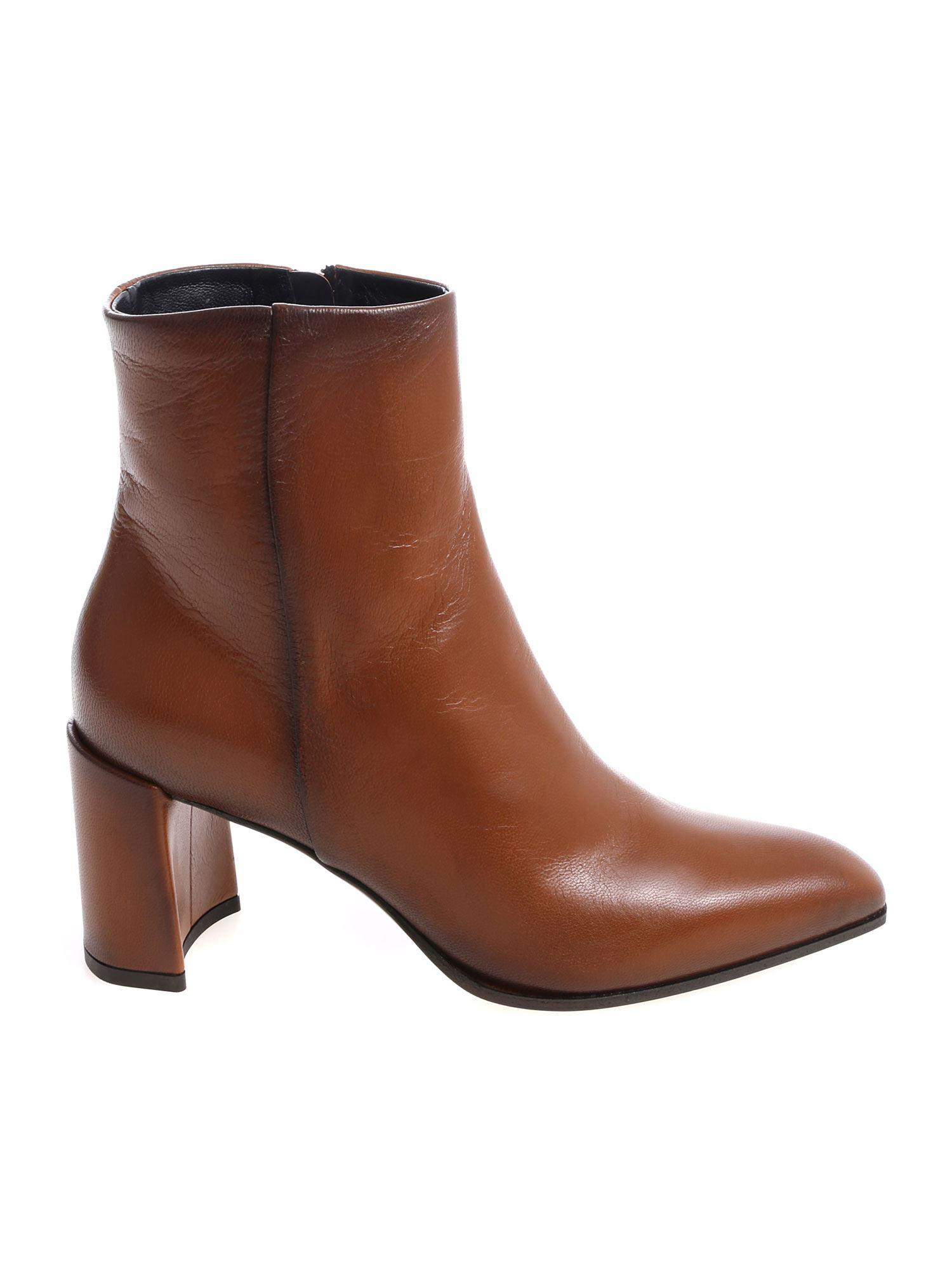 Brown Melange In Premiata Leather Lyst Boots Ankle dRpIzxqX