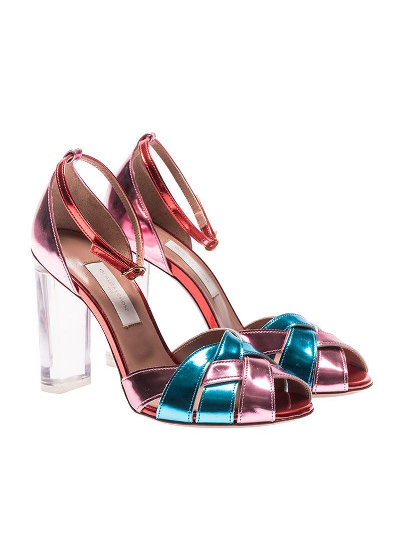 mirrored sandals - Multicolour L'autre Chose Cheap Sale Explore Offer Buy Cheap Store Cheapest Price Cheap Price Sale Amazing Price 7raSB