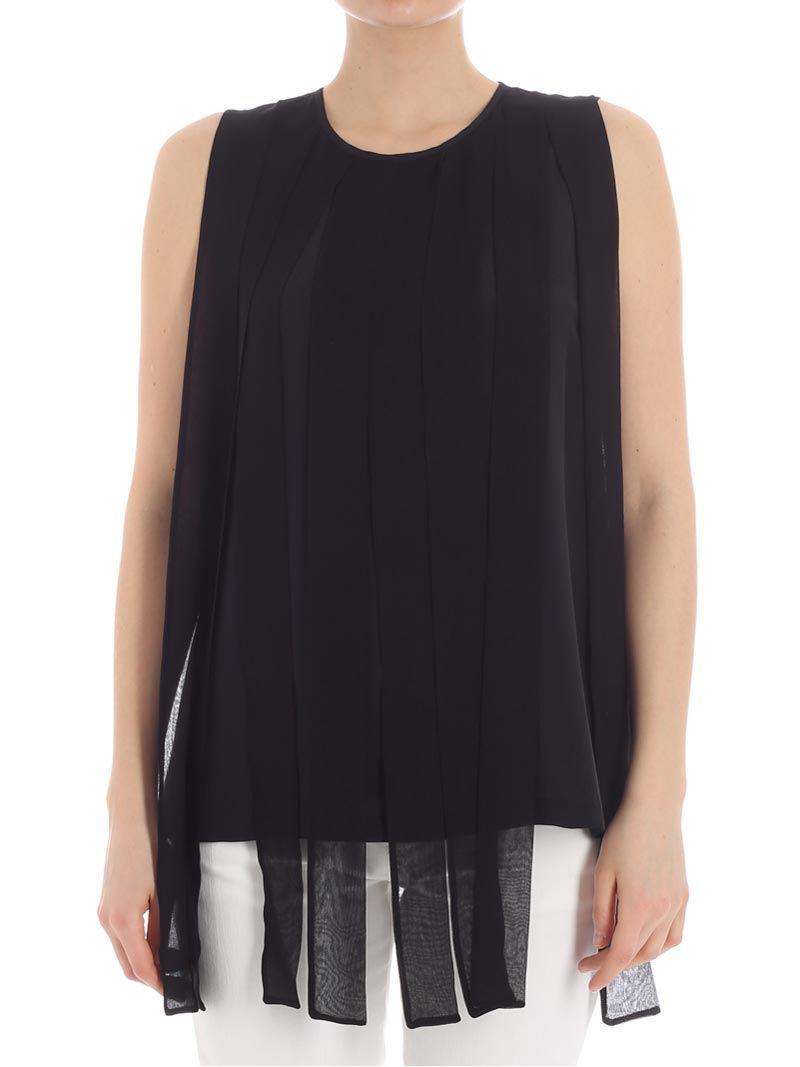 Knock Off Outlet Get To Buy Black Torquay top Max Mara Real Sale 100% Original yAsxB5i