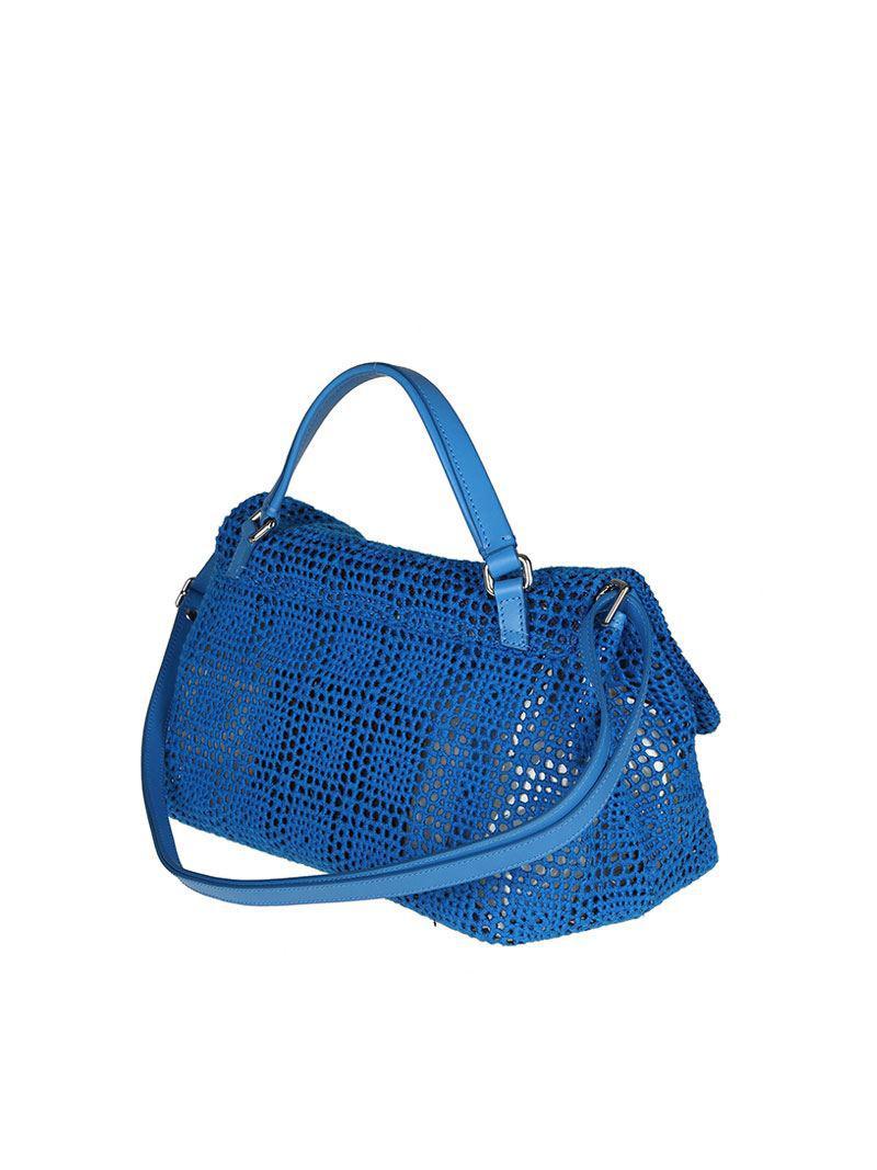 Zanellato Blue Postina S bag - Palamitara line XJdzUQfTL