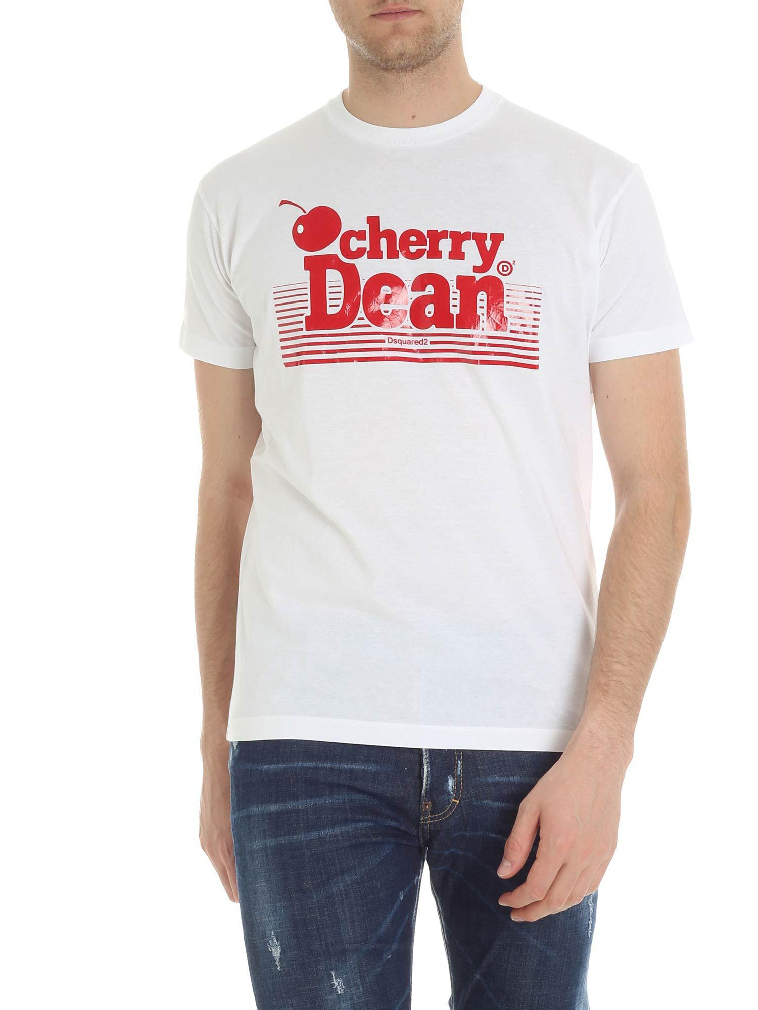 Outlet Best Prices Buy Cheap Nicekicks Cherry Dean printed T-shirt - Grey Dsquared2 Footlocker Pictures Sale Online XSZbJ3
