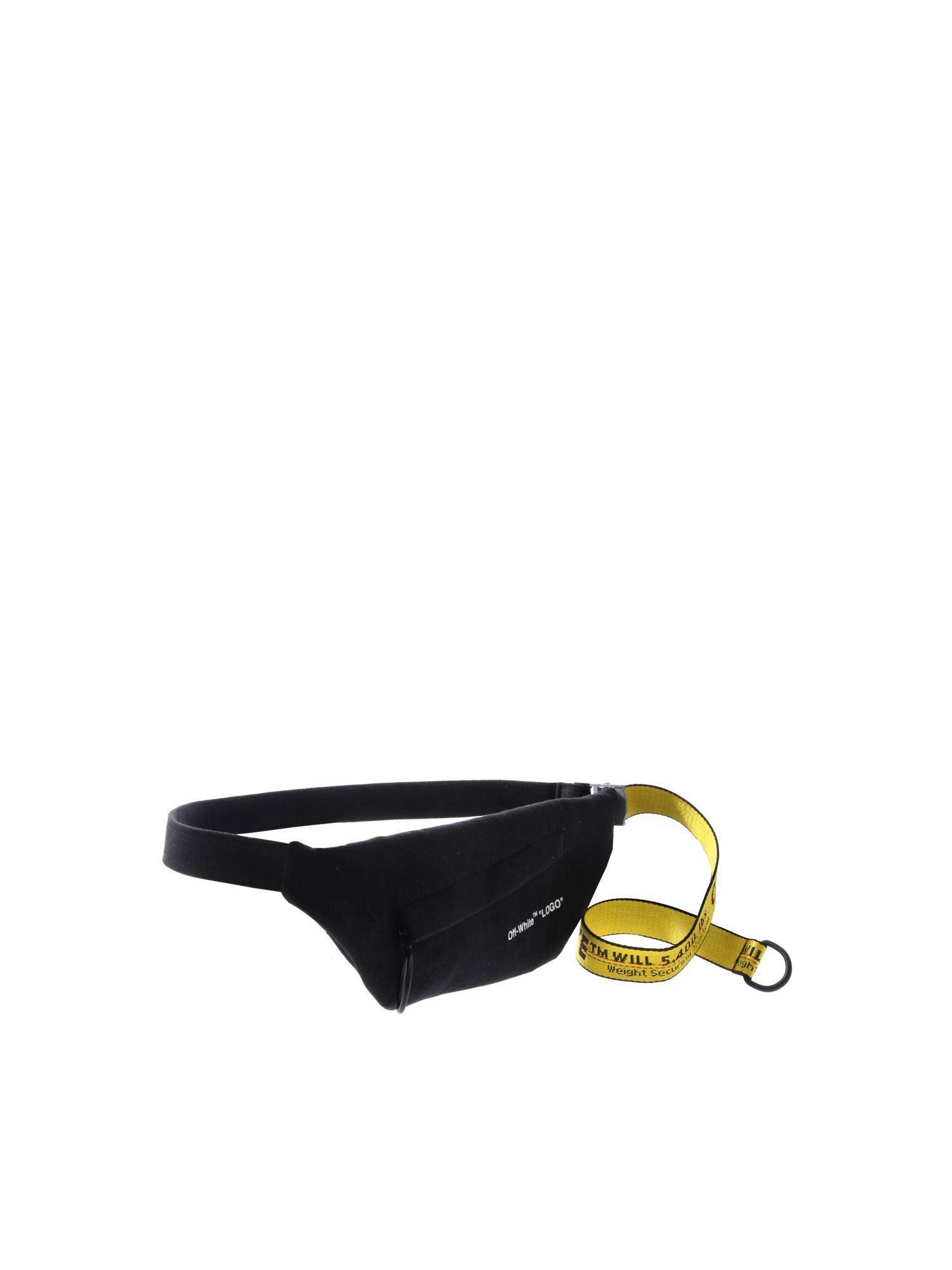 8d1e3eda912 Lyst - Off-White c o Virgil Abloh Waist Vintage Black Waist Bag in White  for Men