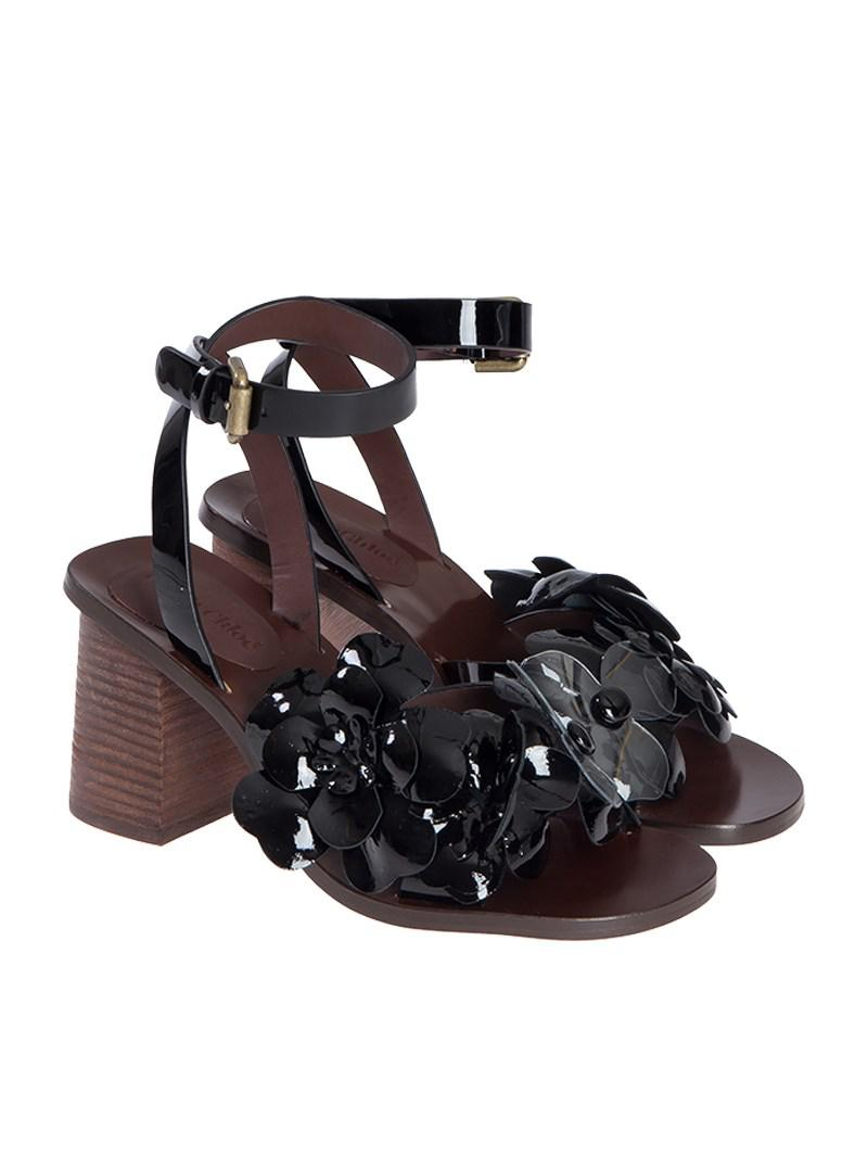 See By Chloé - Black Hina Sandals - Lyst. View Fullscreen