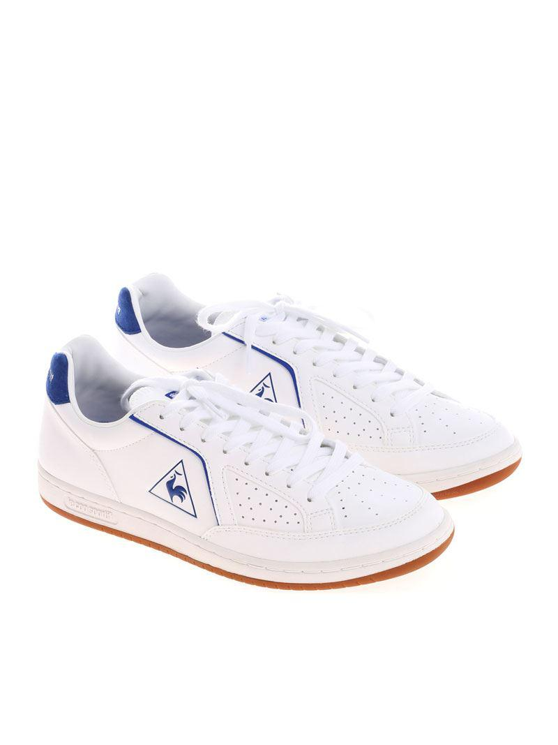 White and blue Icons S Lea sneakers Le Coq Sportif ajEqBqqT6