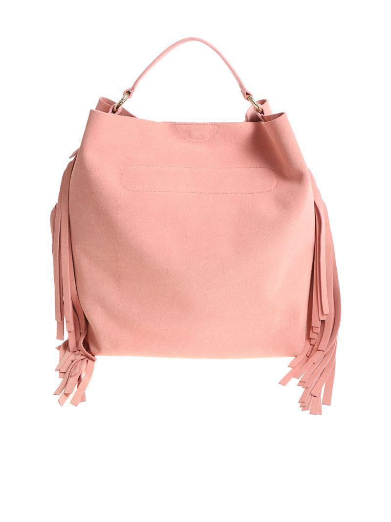Twin-Set Light pink Hobo bag RZE2lSFTk