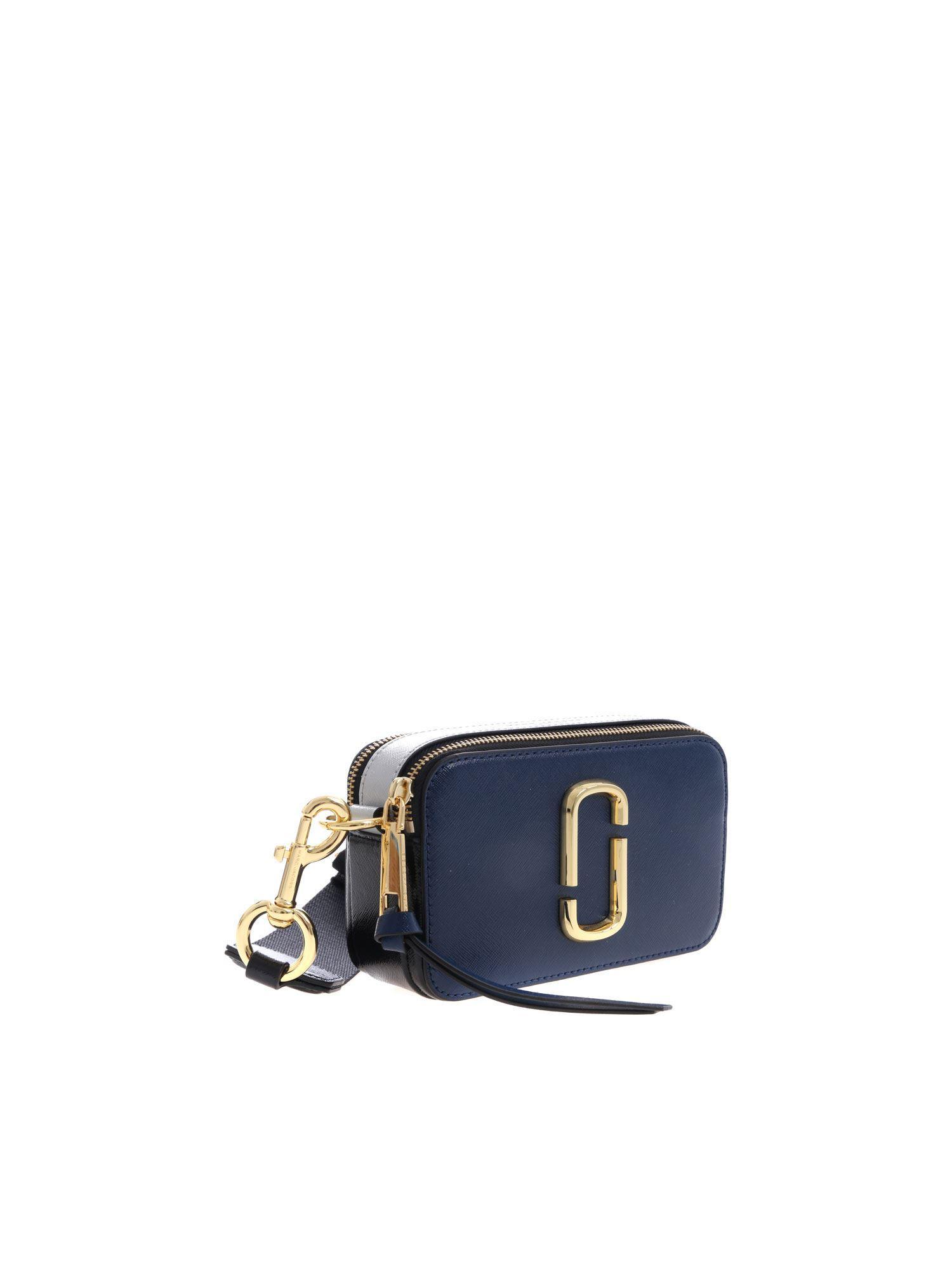 6ec9e4d9745 Lyst - Marc Jacobs Snapshot Bag Night Blue in Blue