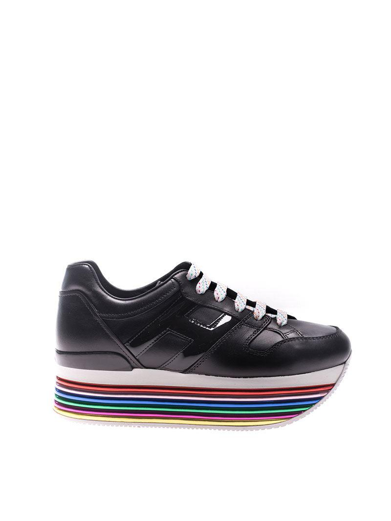 Black maxi sneaker H352 Hogan xe5BJ