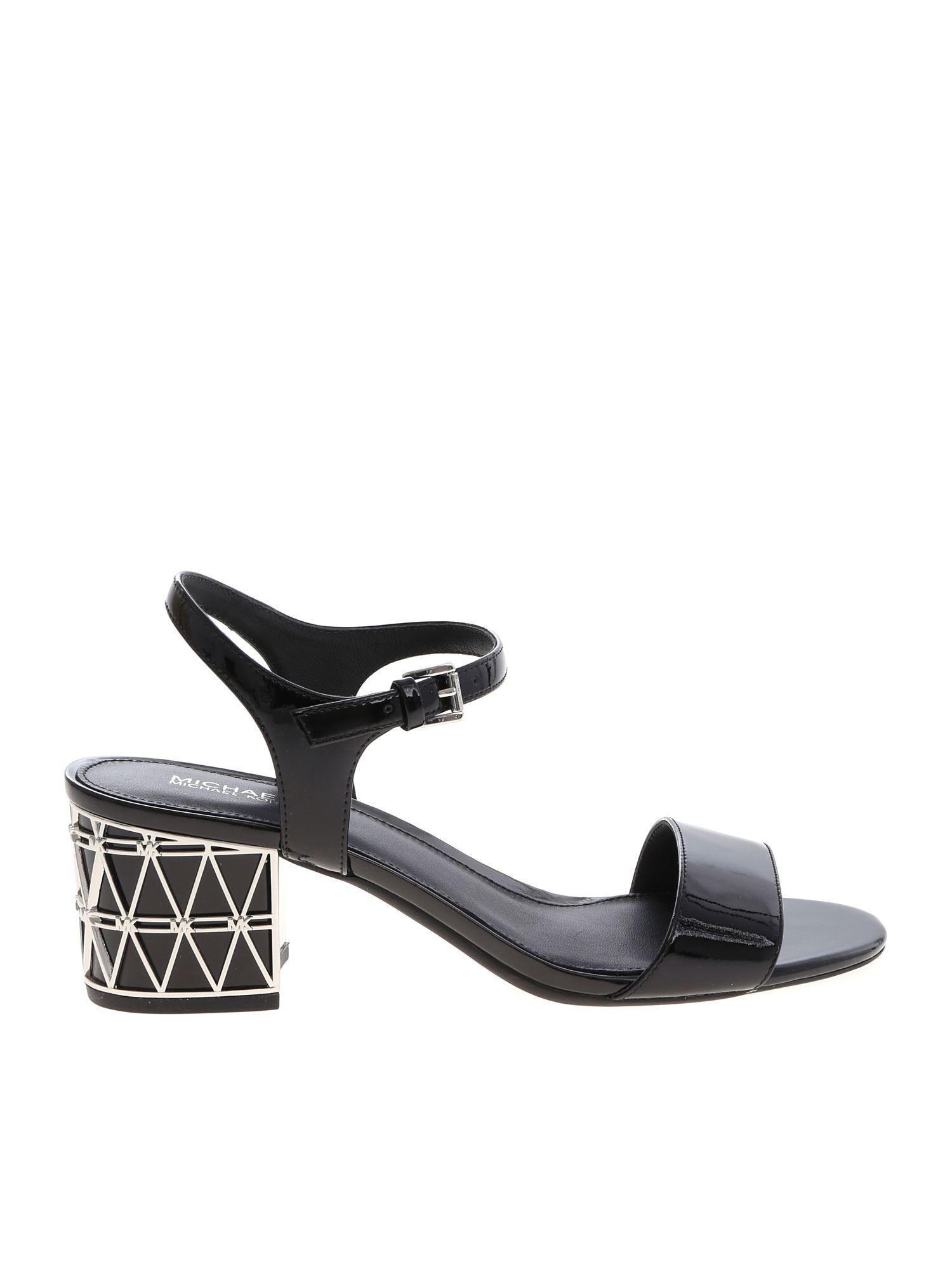 4ab5b63c1b8 Lyst - Michael Kors Beekman Sandals In Black in Black