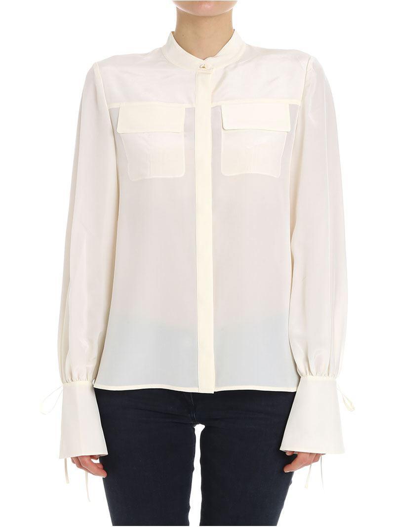 Gianna shirt Tory Burch Cheap Sale Footlocker Pictures wcKBCVA8