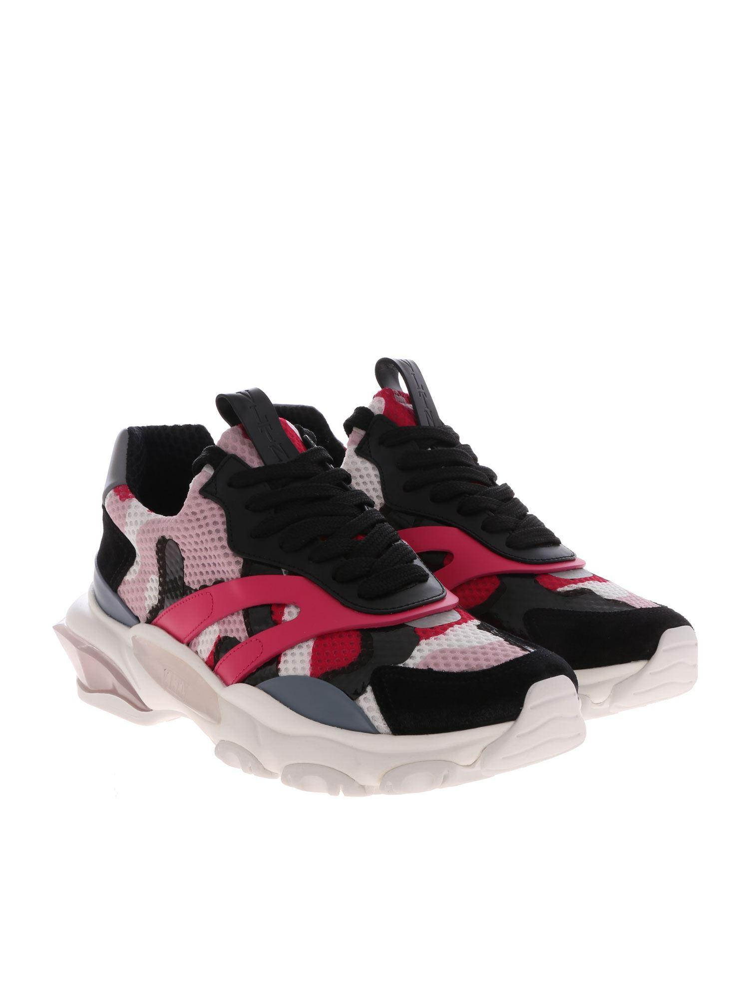 c9477cf634e Lyst - Valentino Bounce Mesh Sneakers - Save 27%