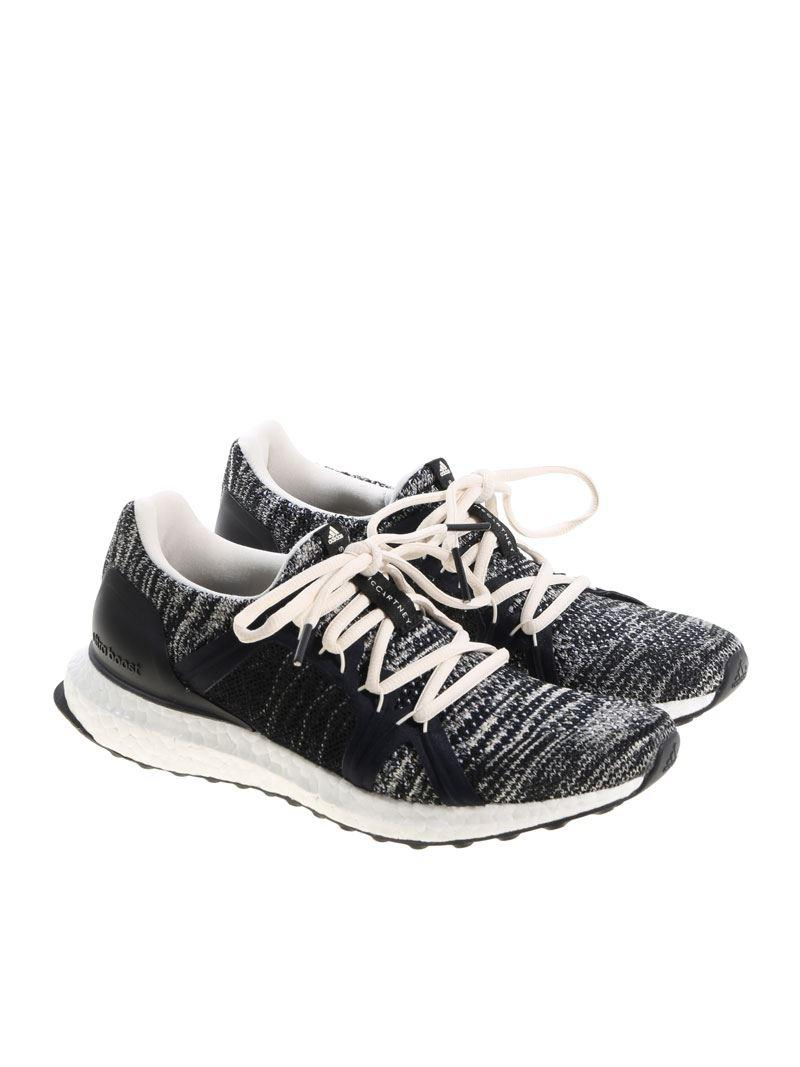 f11a82b5711 adidas By Stella McCartney. Women s White And Black Ultraboost Parley  Sneakers