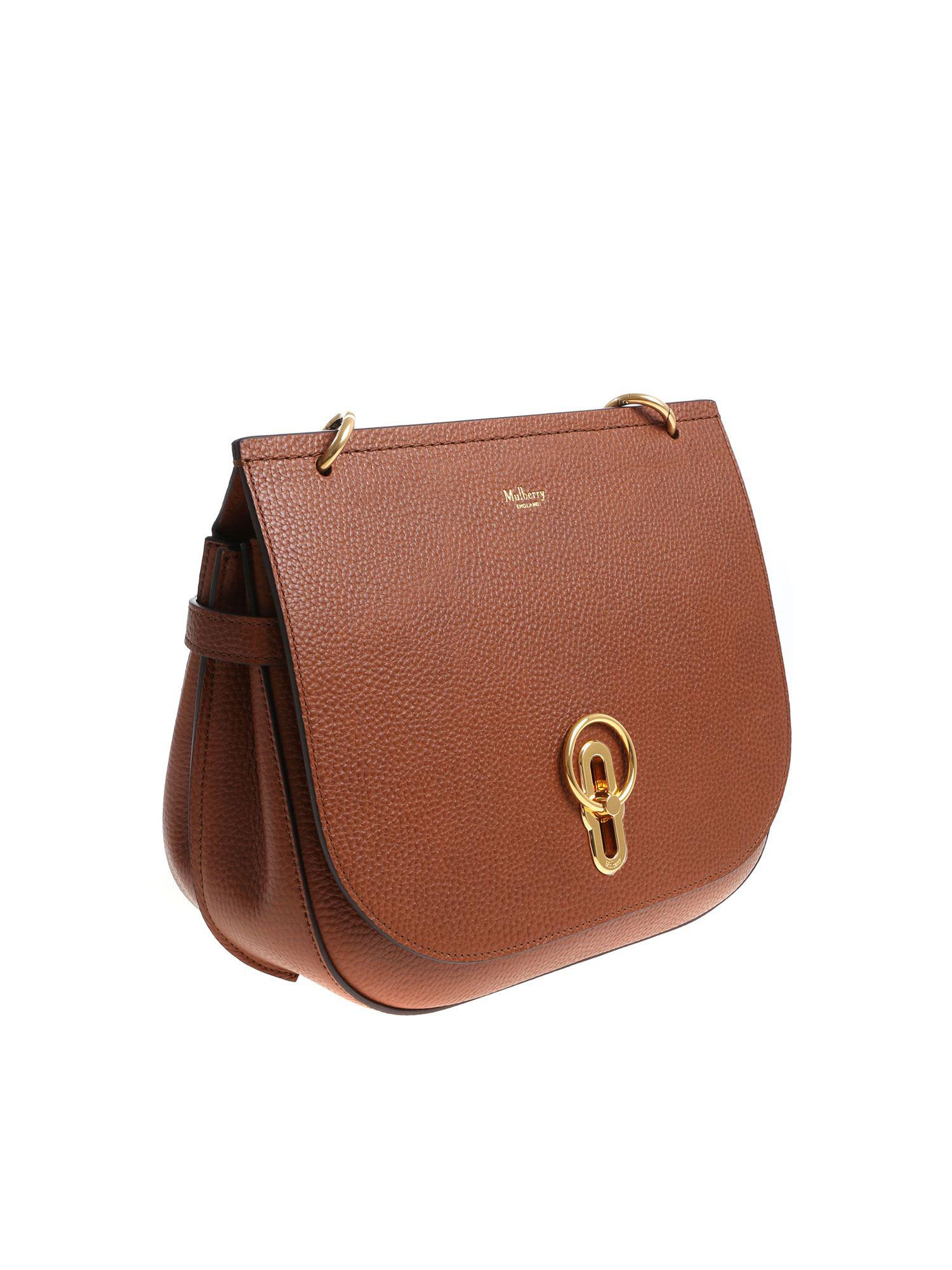 e3ac2443b0 Mulberry Tan Colored Amberley Bag in Brown - Lyst