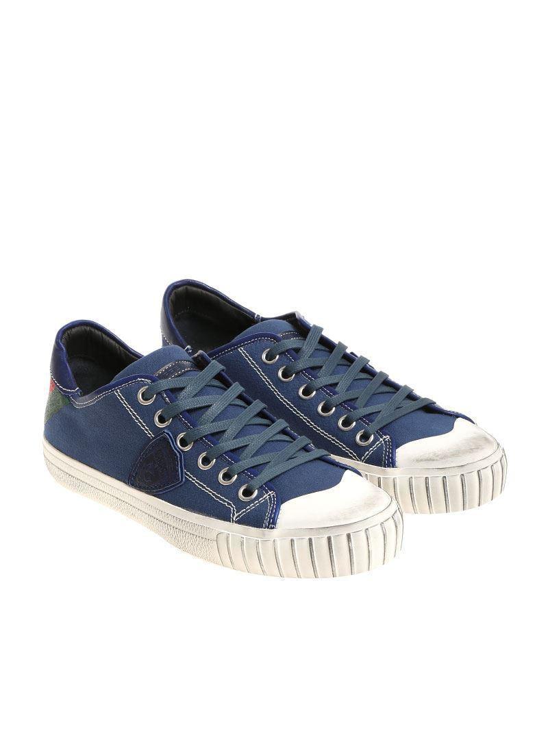 Blue Gare L sneakers Philippe Model Bb9k3