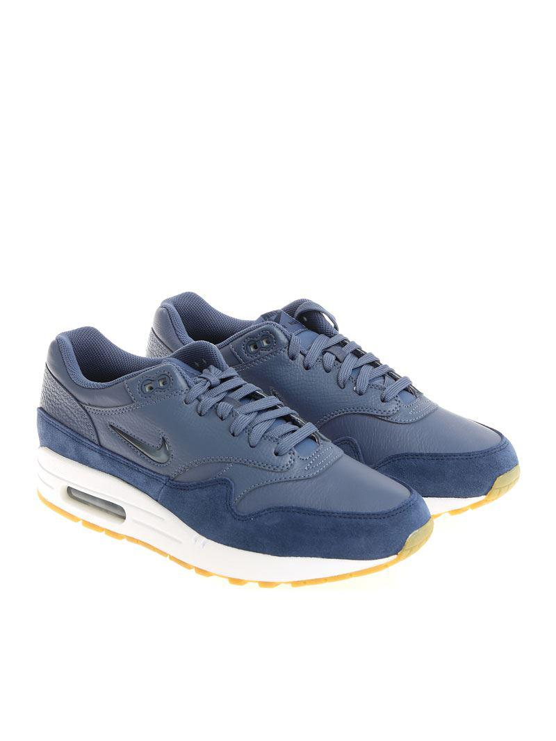 best sneakers e93a0 310d3 Lyst - Nike Avio Blue Air Max 1 Premium Sc Sneakers in Blue for Men