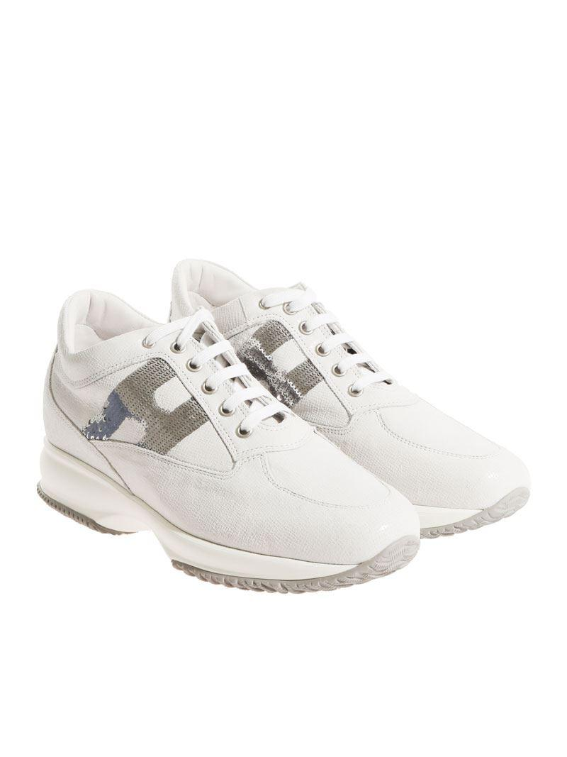Ice-colored reptile-effect leather Interactive sneakers Hogan Clearance Finishline Under 50 Dollars Clearance Wiki tRrVTEJH