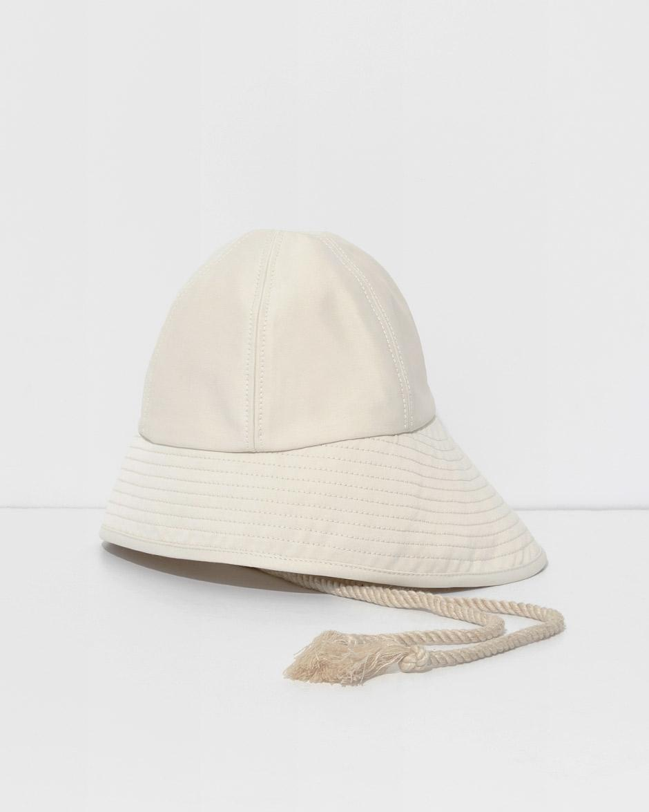 042de424d9bc6 Lyst - 3.1 Phillip Lim Ivory Sporting Bucket Hat in White