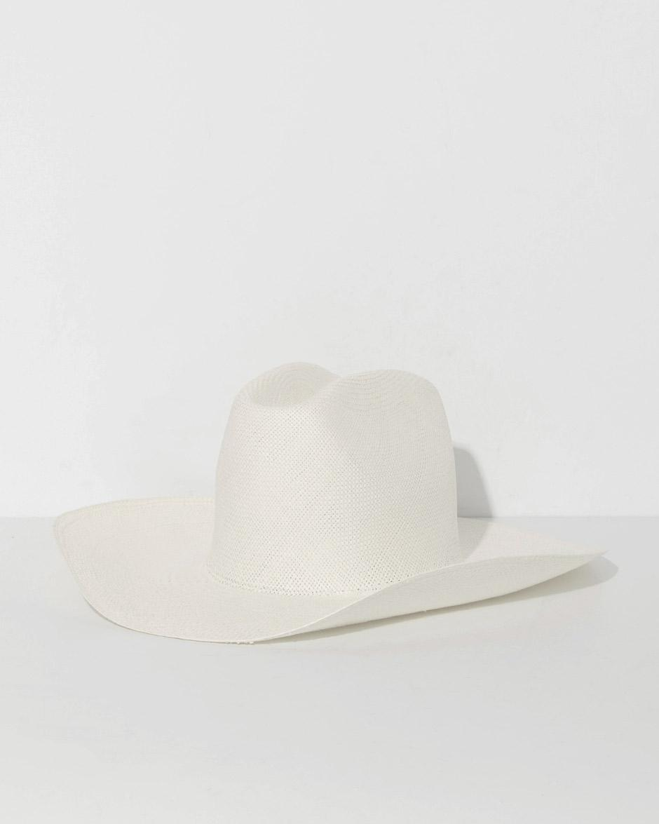 758d7525e050b Lyst - Clyde White Cowboy Hat in White - Save 60%