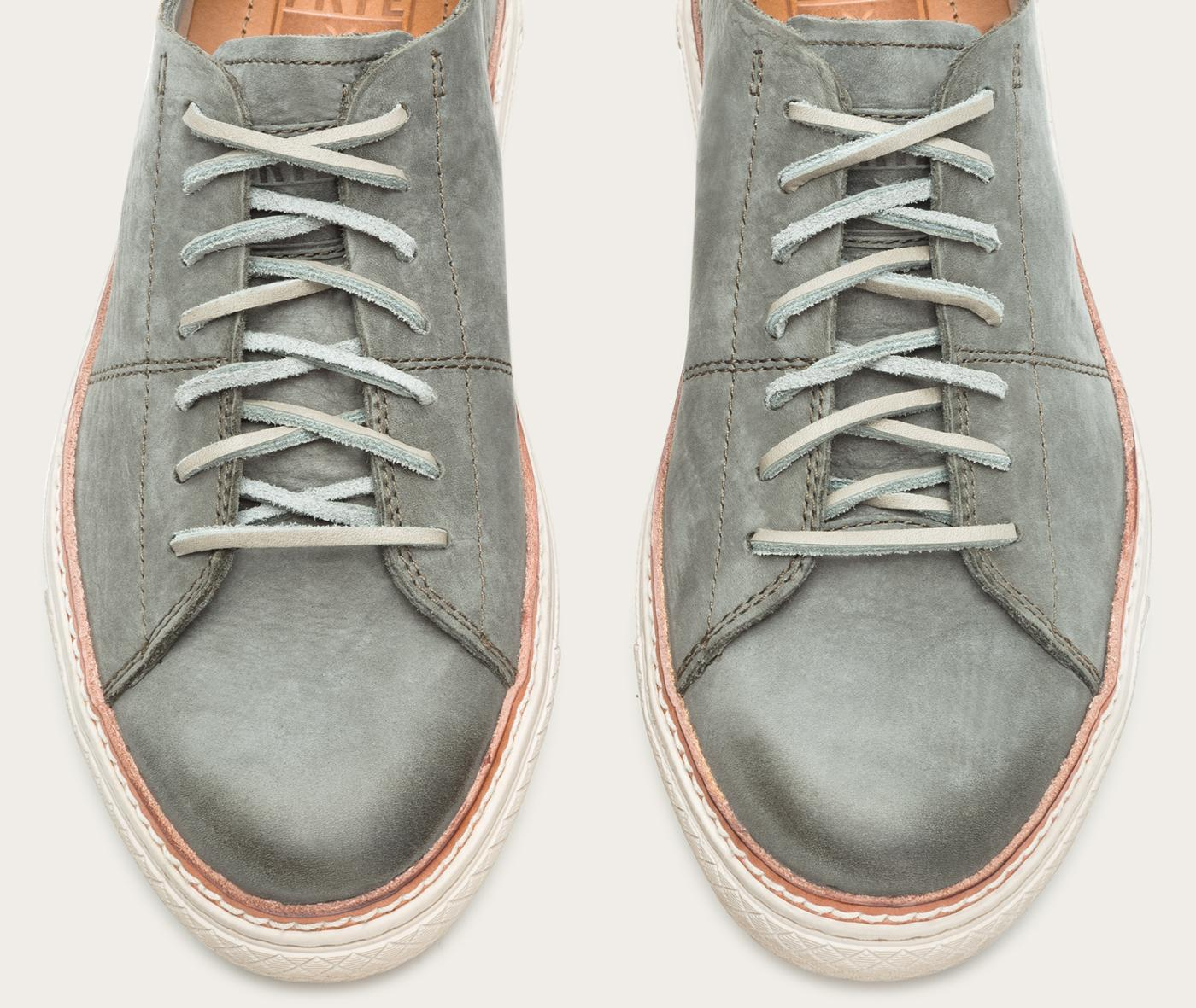 Lyst Frye Gates Low Lace In Gray For Men