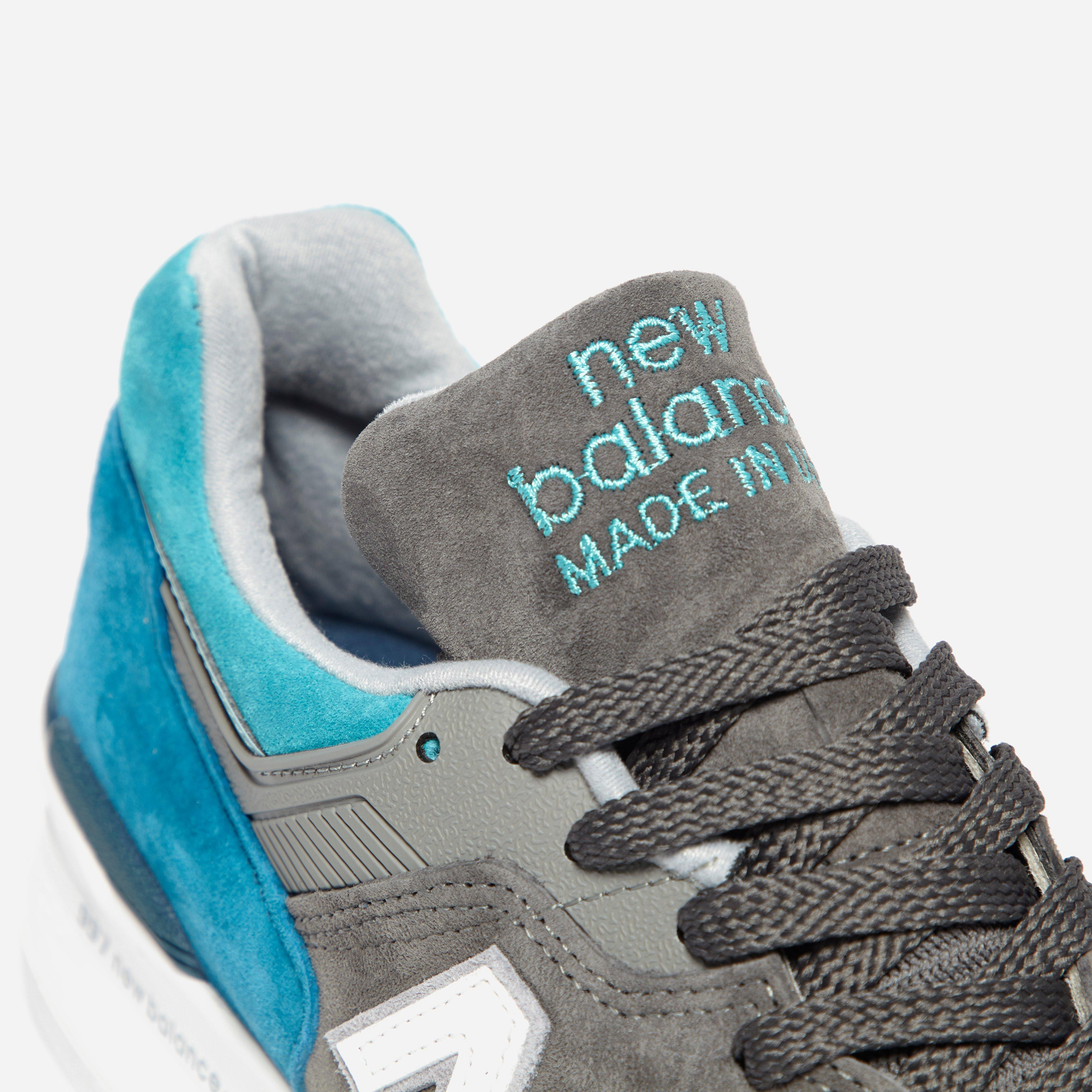 2e9668cdb464 Lyst - New Balance M 997 Ca Made In Usa in Gray for Men