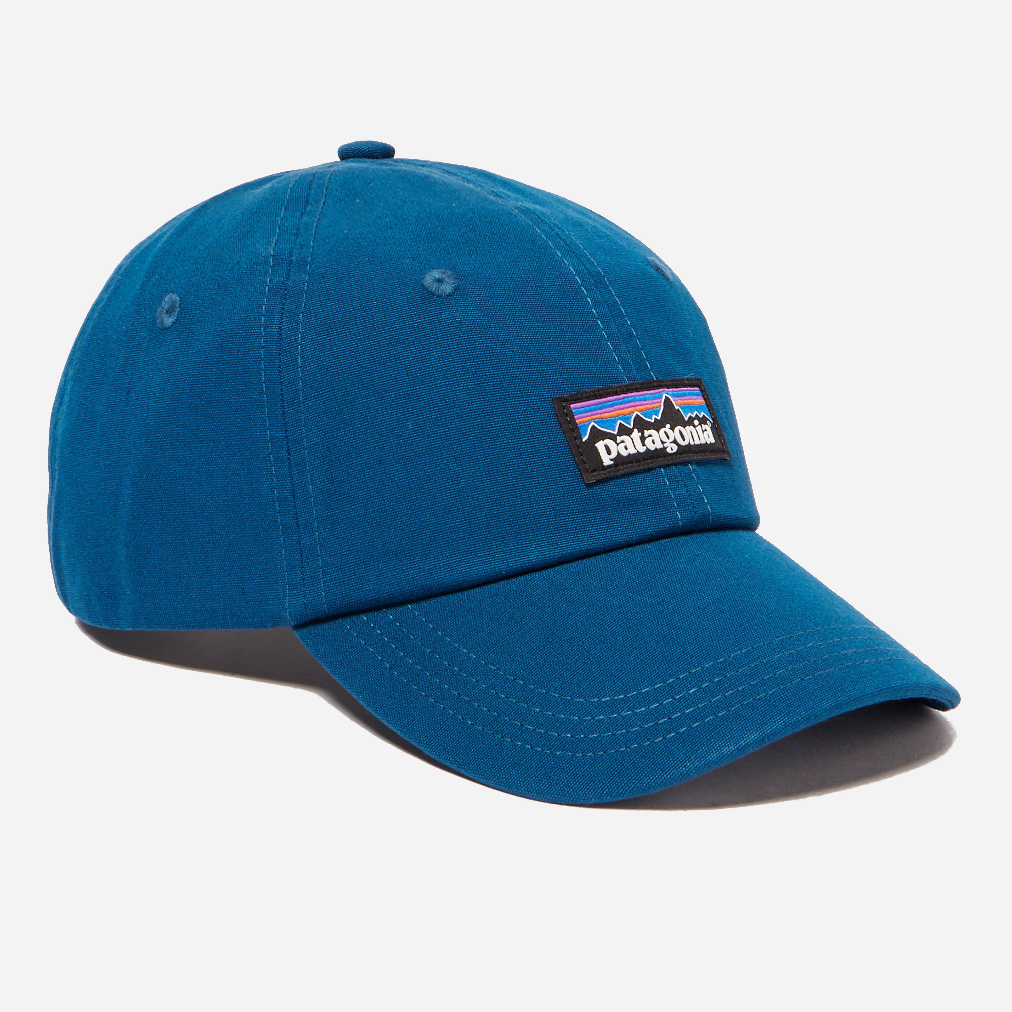 450e40bf255dc Patagonia P-6 Label Trad Cap in Blue for Men - Lyst