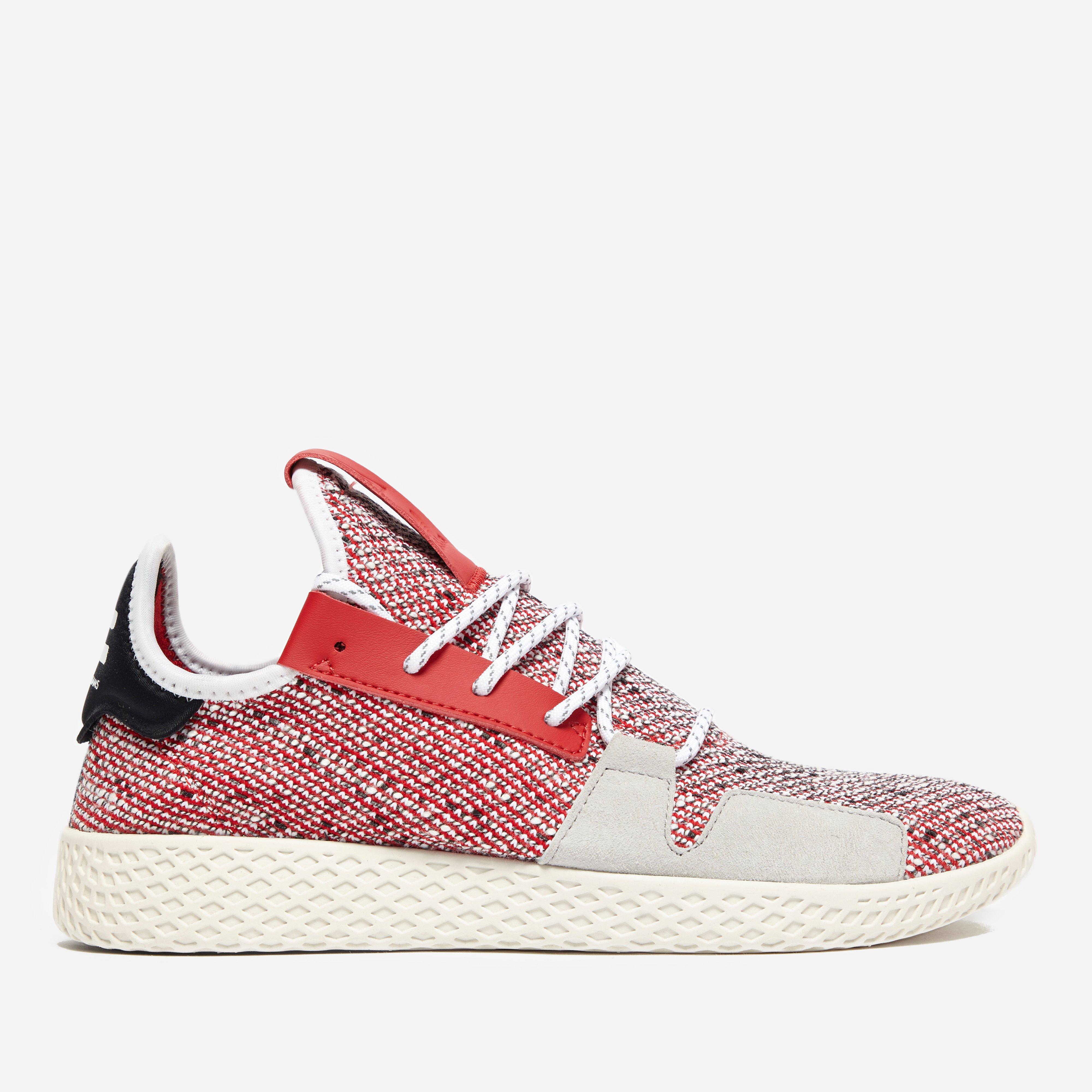 826b26682e9ad Adidas Originals - Red X Pharrell Williams Solar Hu Tennis V2  afro Pack   for. View fullscreen