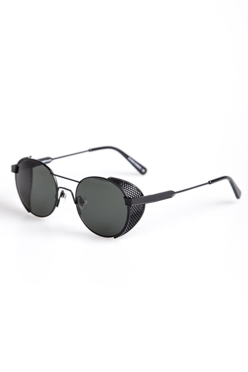 23a86929a880b Han Kjobenhavn Sunglasses Green Outdoor Matt Black in Green for Men ...