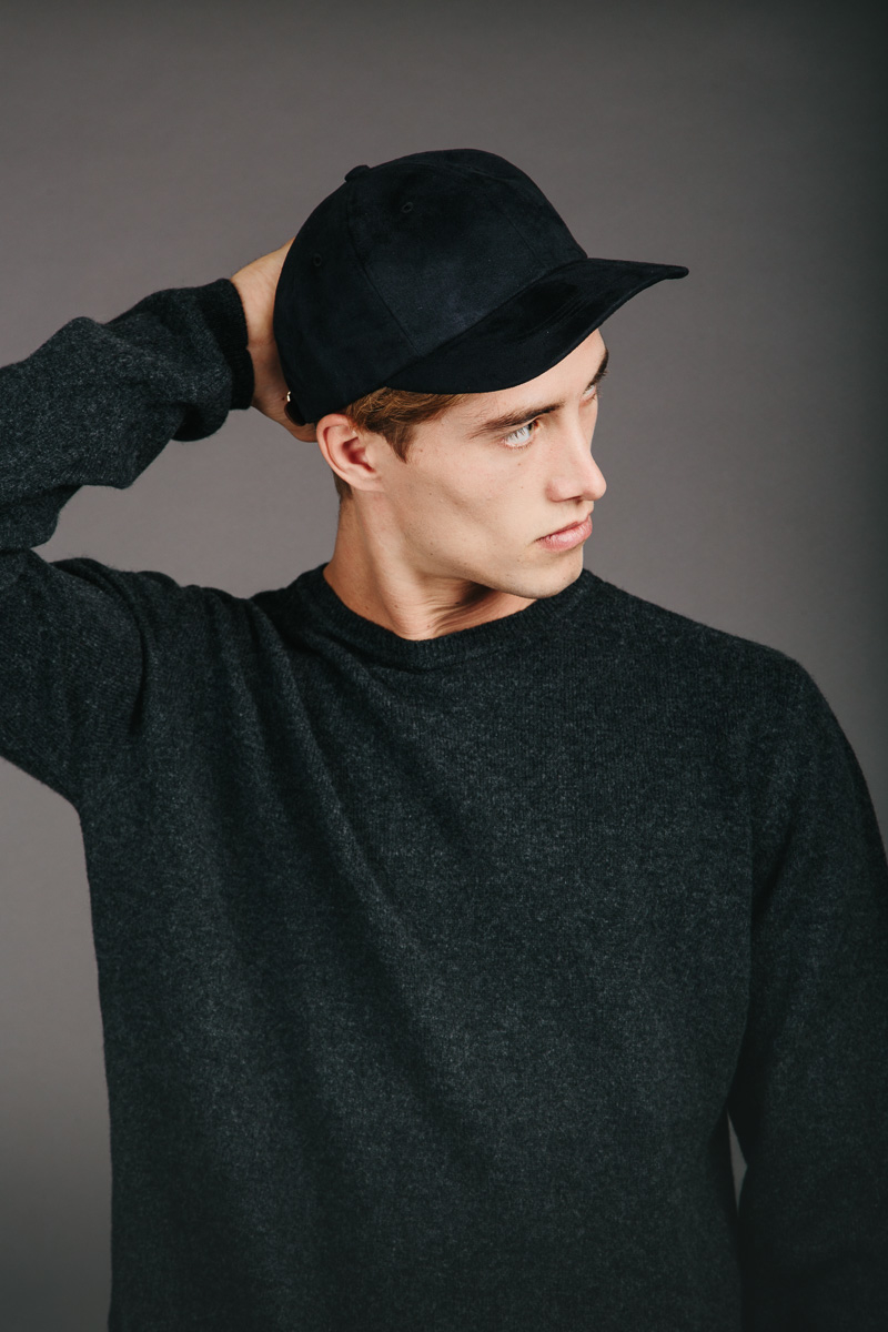 ad2bf22738e Norse Projects Sports Cap Faux Suede Black in Black for Men - Lyst