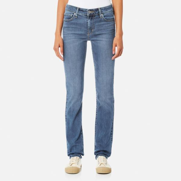 levi 39 s 712 slim jeans in blue lyst. Black Bedroom Furniture Sets. Home Design Ideas