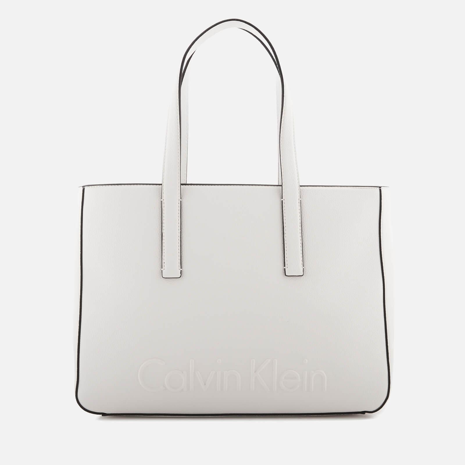 Edge Medium White Calvin Klein h72Dbt