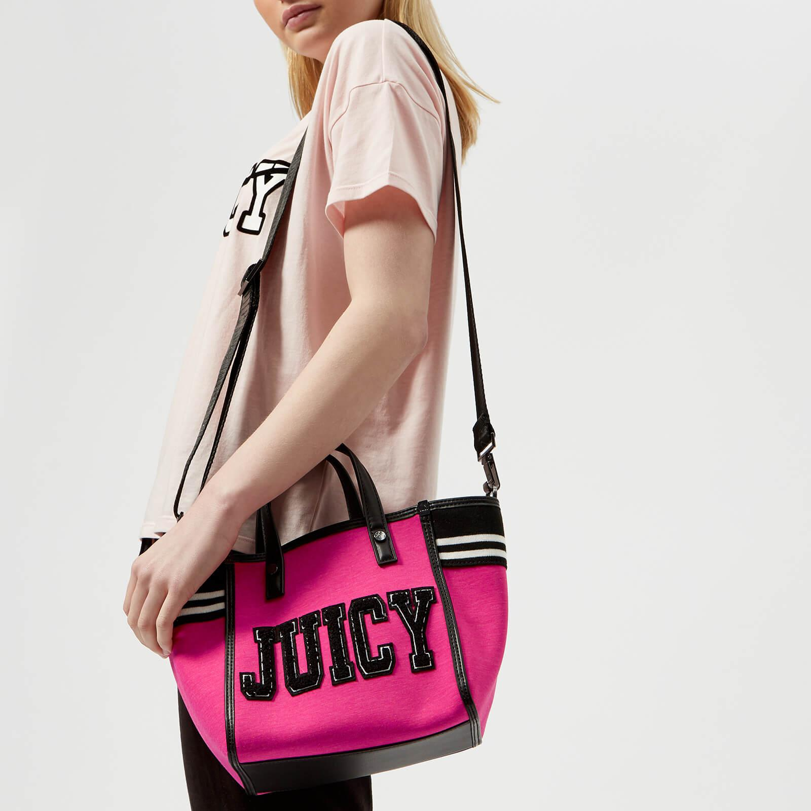 44135a9fd Juicy Couture Logo Tote in Pink - Lyst