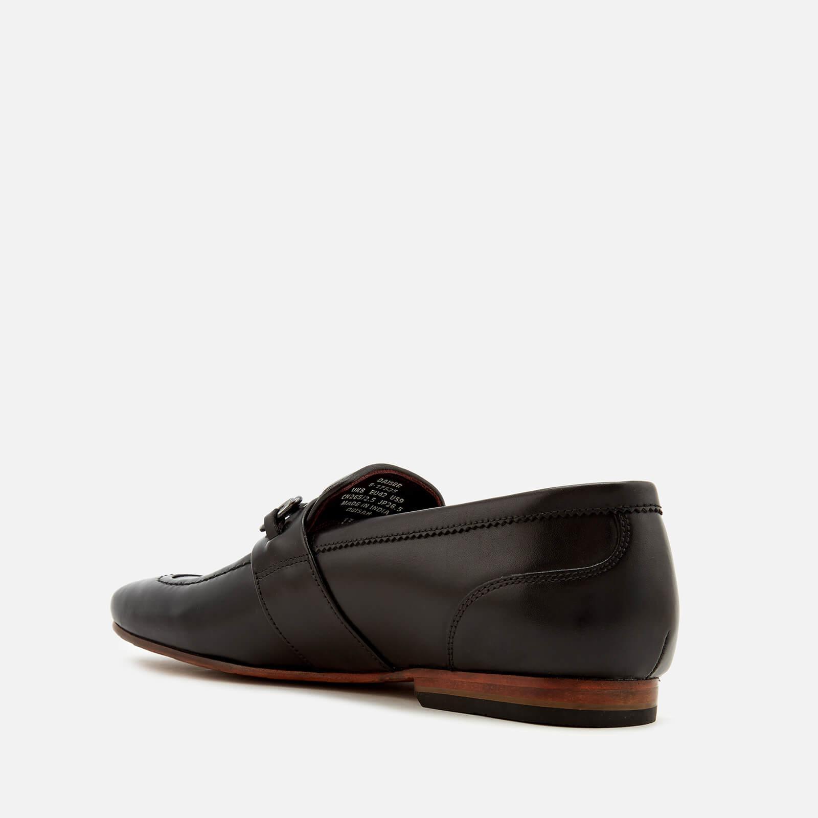 cb036f102e0d1 Ted Baker - Black Daiser Leather Loafers for Men - Lyst. View fullscreen