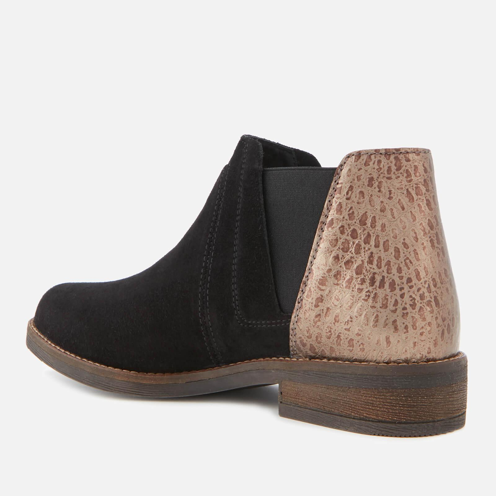 fefd76fe2 Clarks - Black Demi Beat Suede Ankle Boots - Lyst. View fullscreen