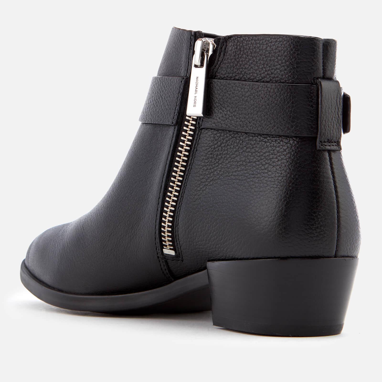 89e180a7b2dd MICHAEL Michael Kors - Black Harland Ankle Boots - Lyst. View fullscreen