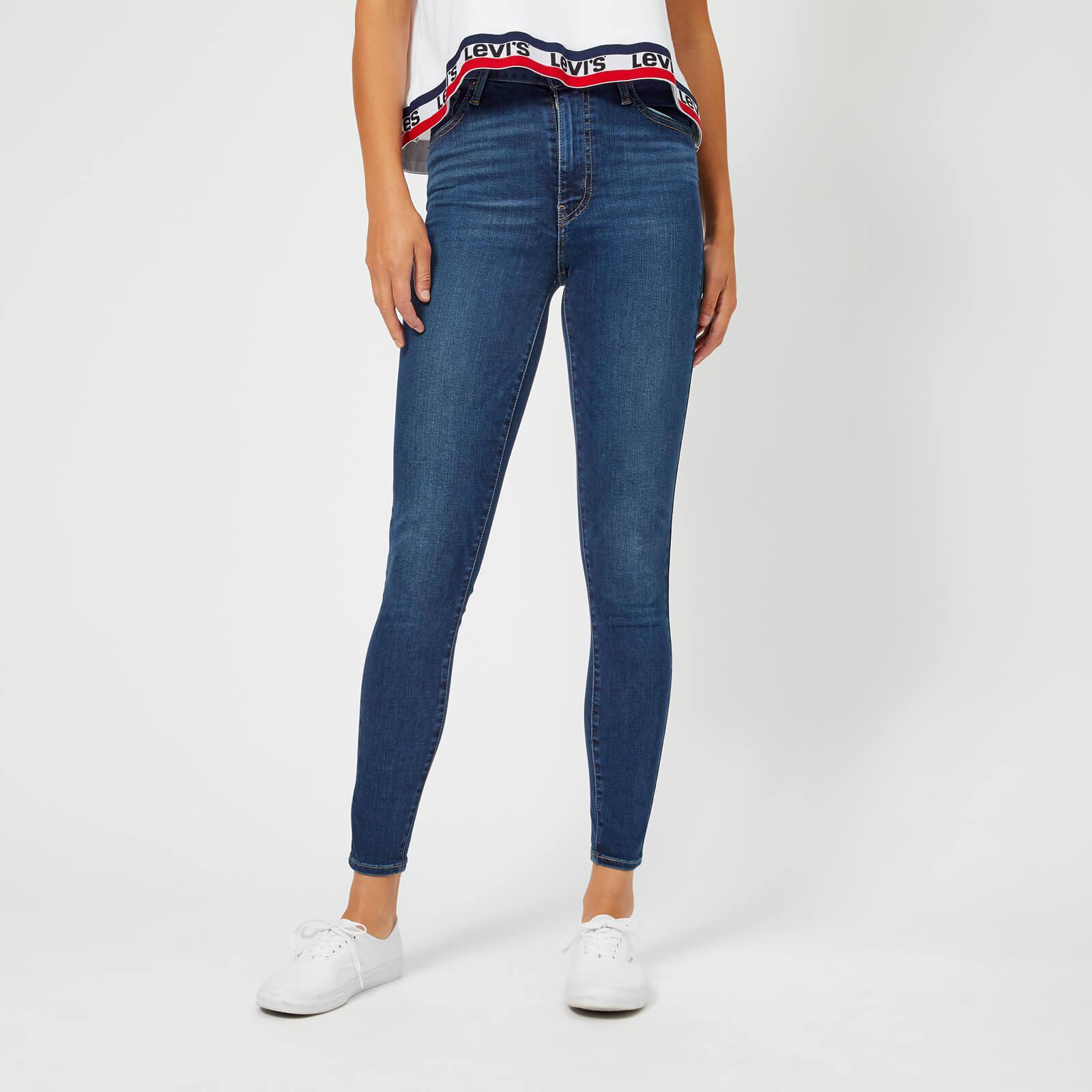 High Super In Mile Lyst Jeans Blue Levi's Skinny 5E1xqX88nZ