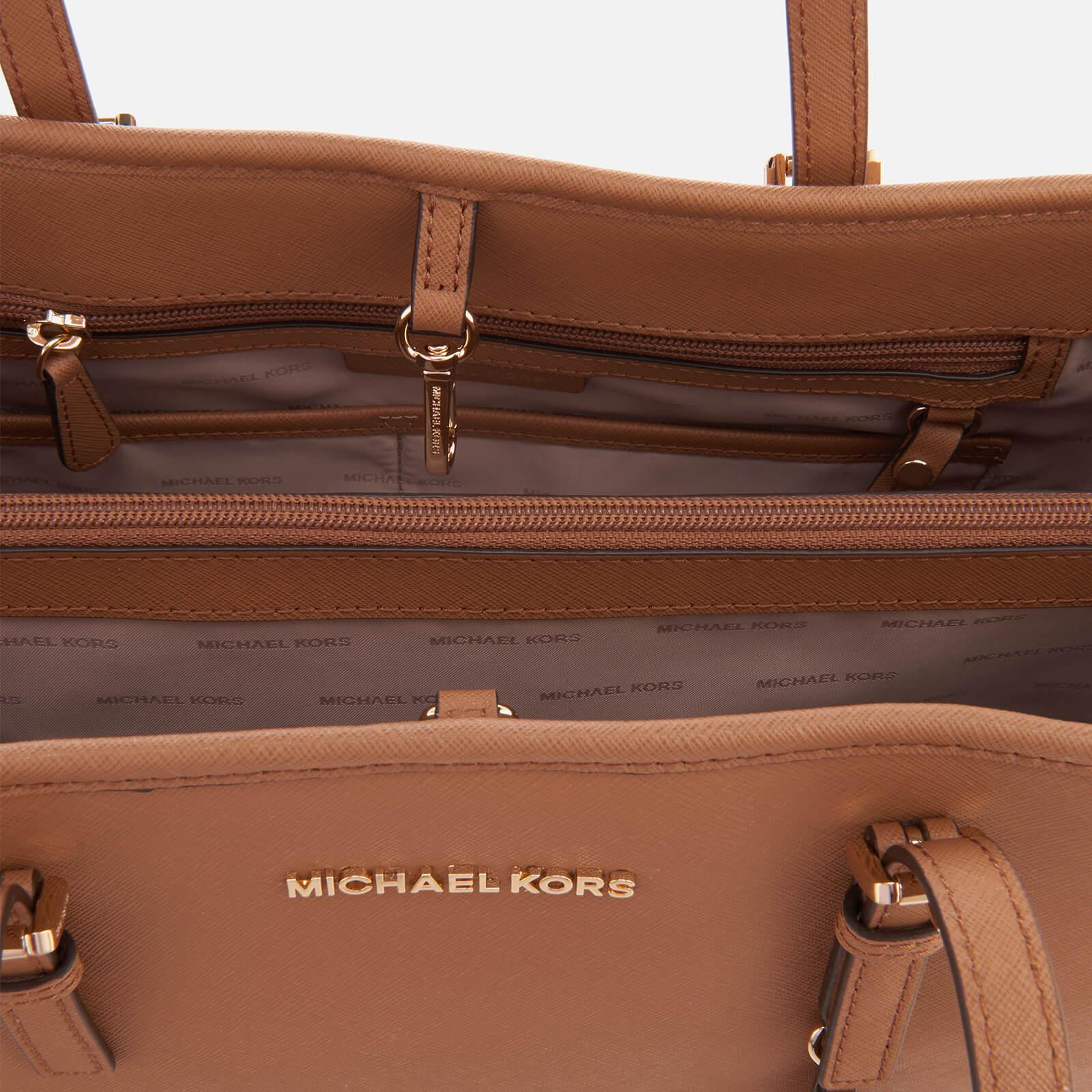 464a7a0e458a73 MICHAEL Michael Kors Jet Set Travel Large East West Tote Bag in ...