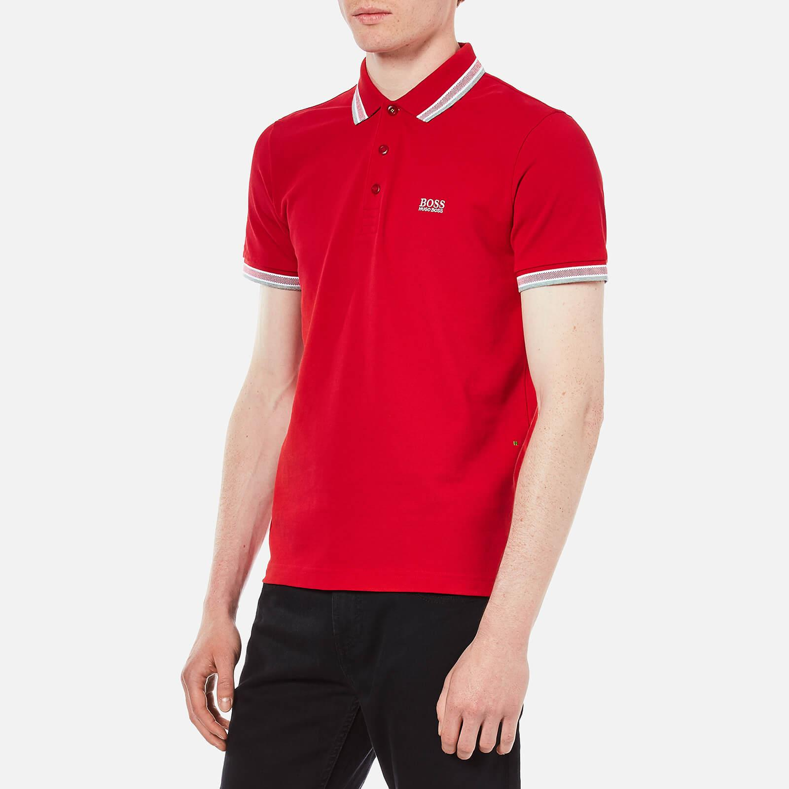 23c073c28 BOSS Green - Red Men's Paddy Polo Shirt for Men - Lyst. View fullscreen